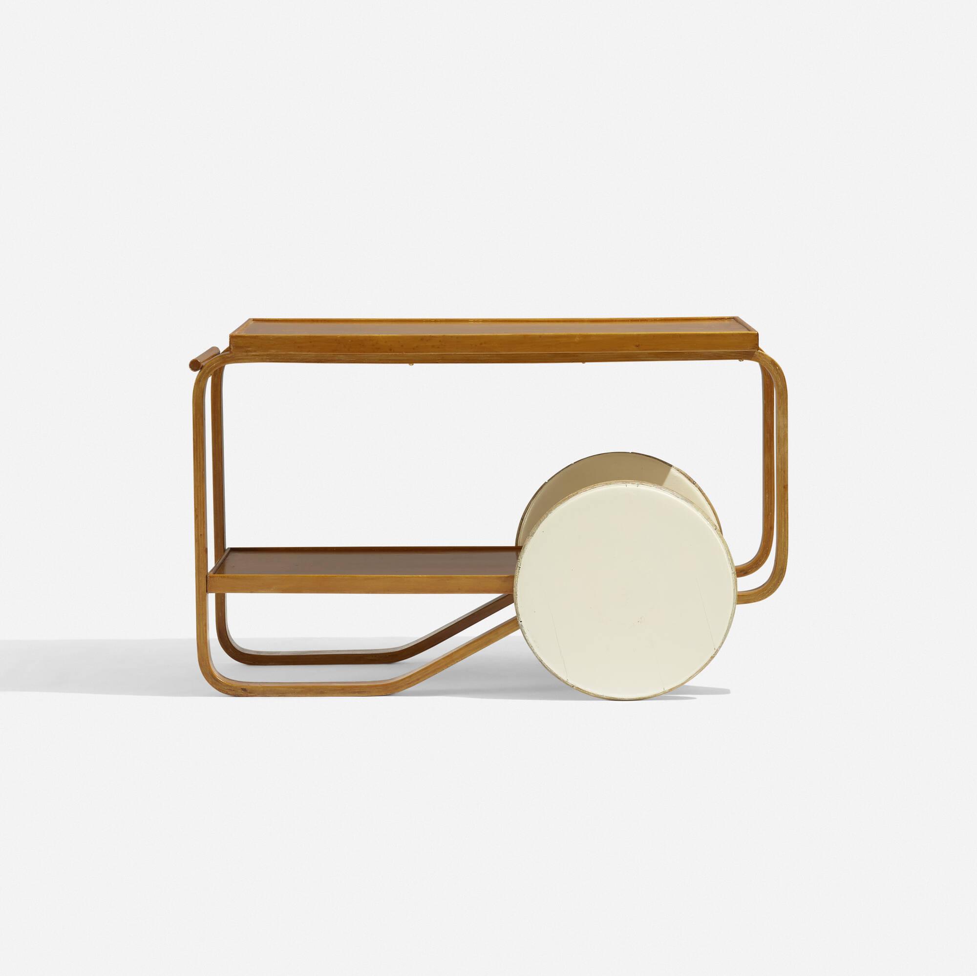 156: Alvar Aalto / tea trolley (1 of 3)