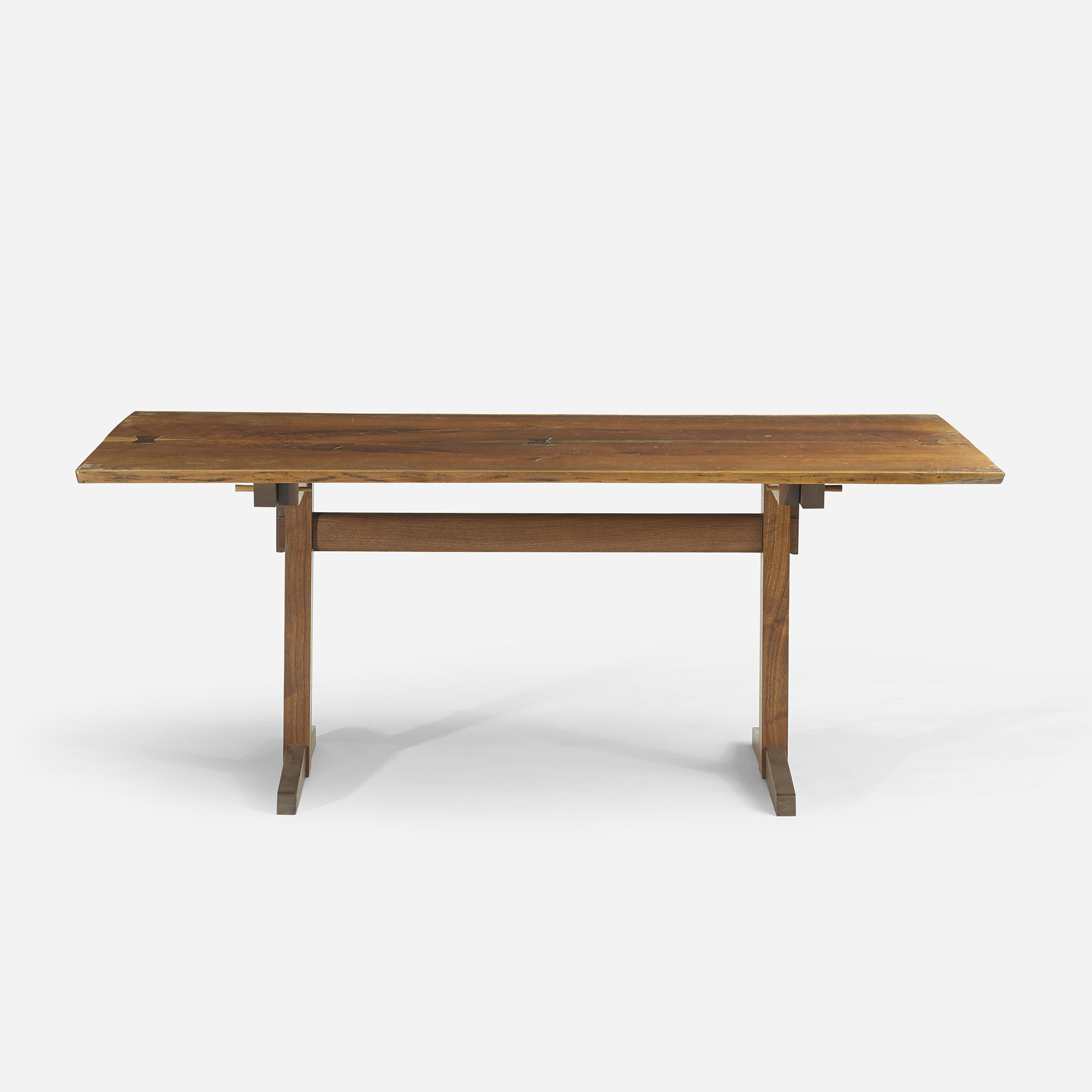 Nakashima Table 156: george nakashima / trestle dining table < design, 12 june