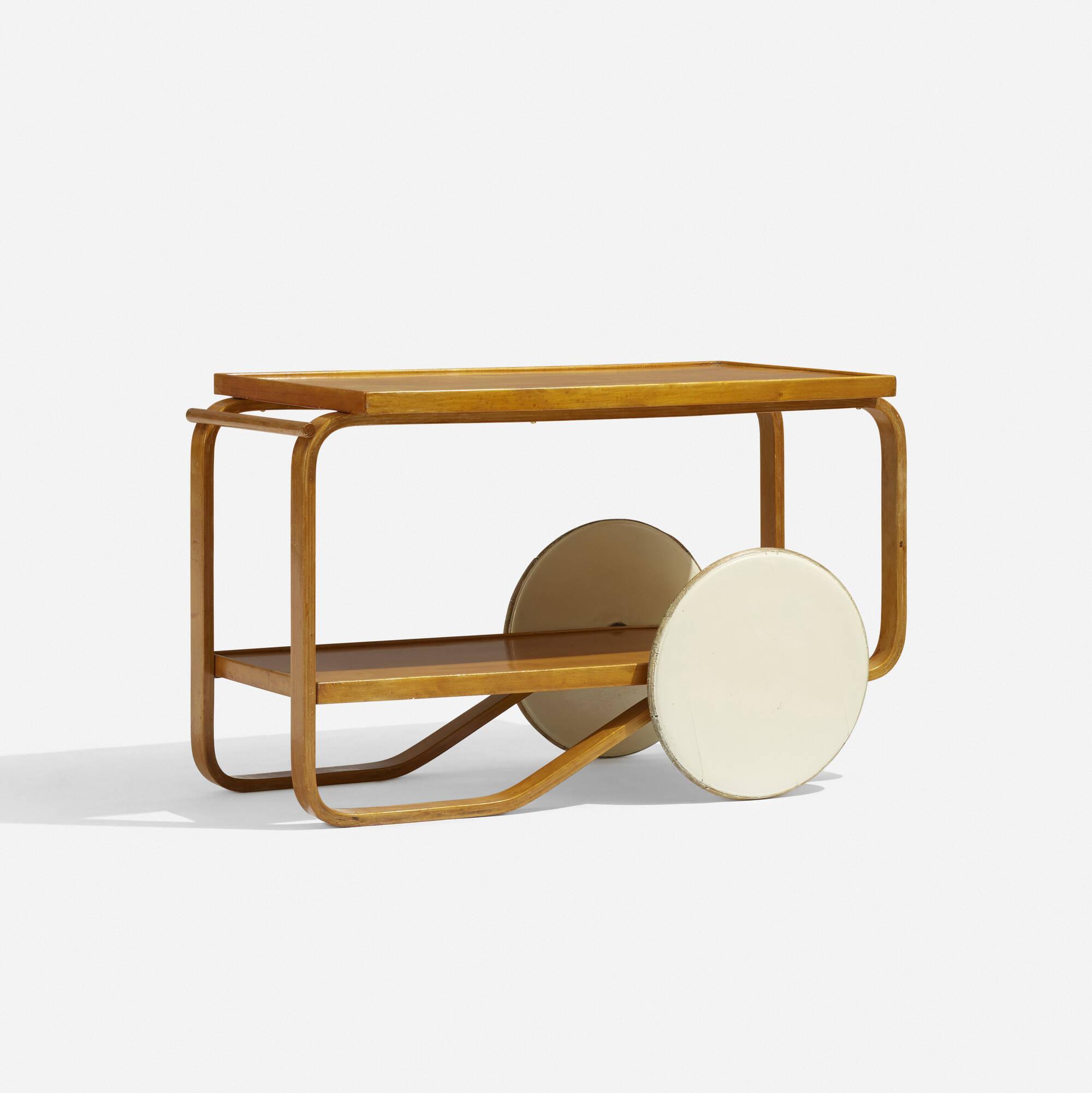 156: Alvar Aalto / tea trolley (2 of 3)