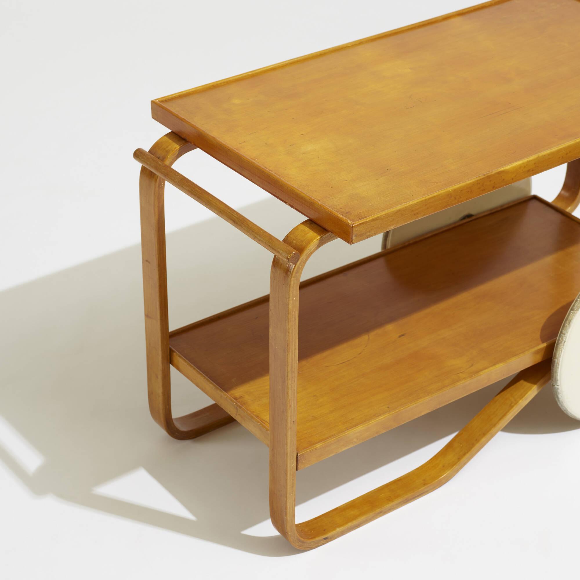 156: Alvar Aalto / tea trolley (3 of 3)