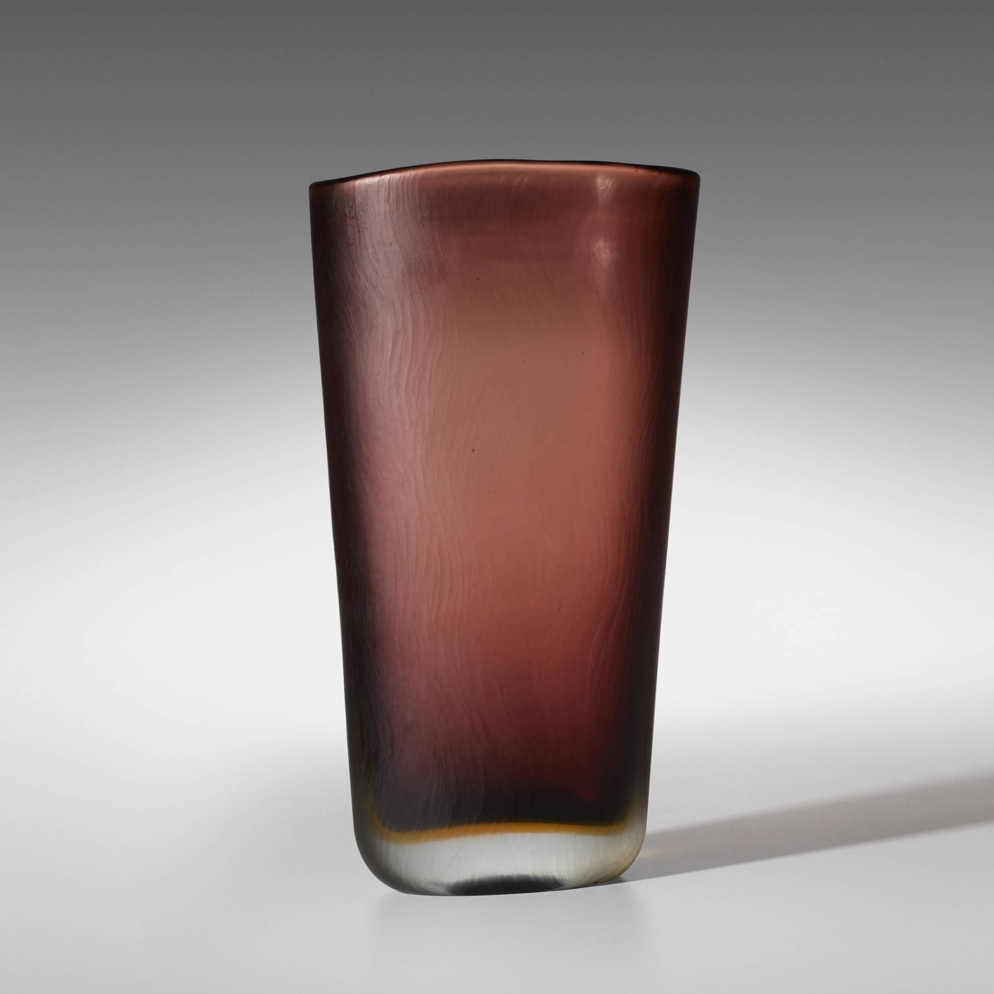 157: Paolo Venini / unique Inciso vase (1 of 2)