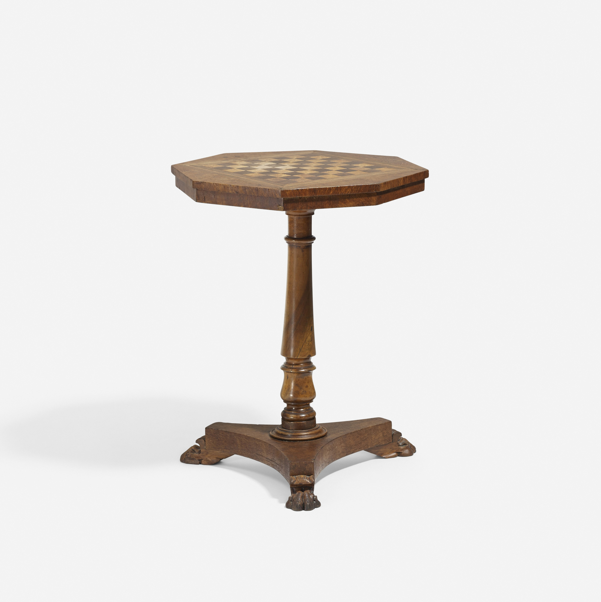 157: 19th Century / game table (1 of 2)