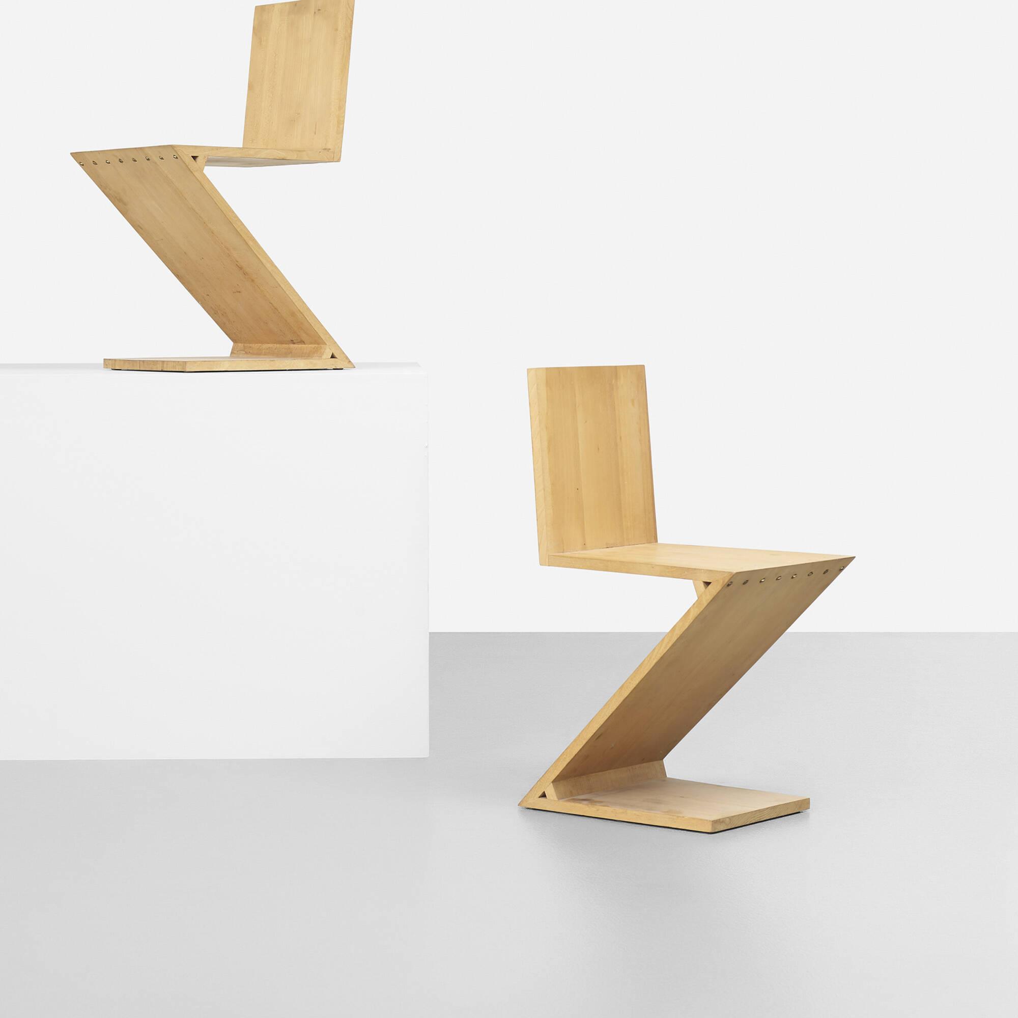 Ordinaire ... 157: Gerrit Rietveld / Zig Zag Chair (2 Of 5)