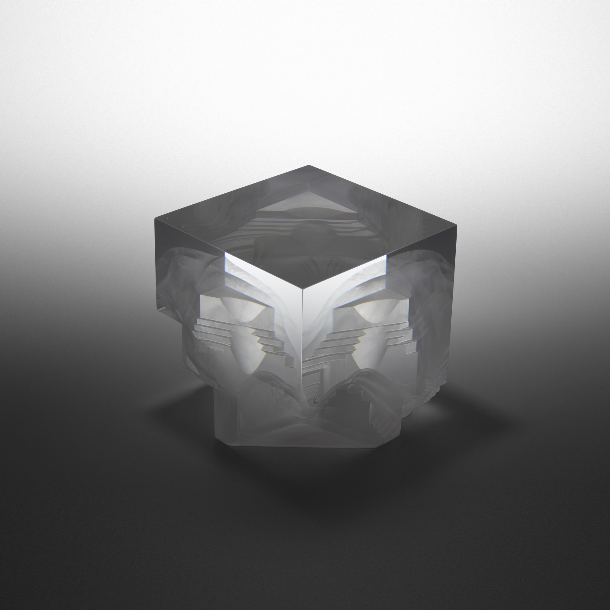 158: Steven Weinberg / Cube no. 981201 (1 of 5)