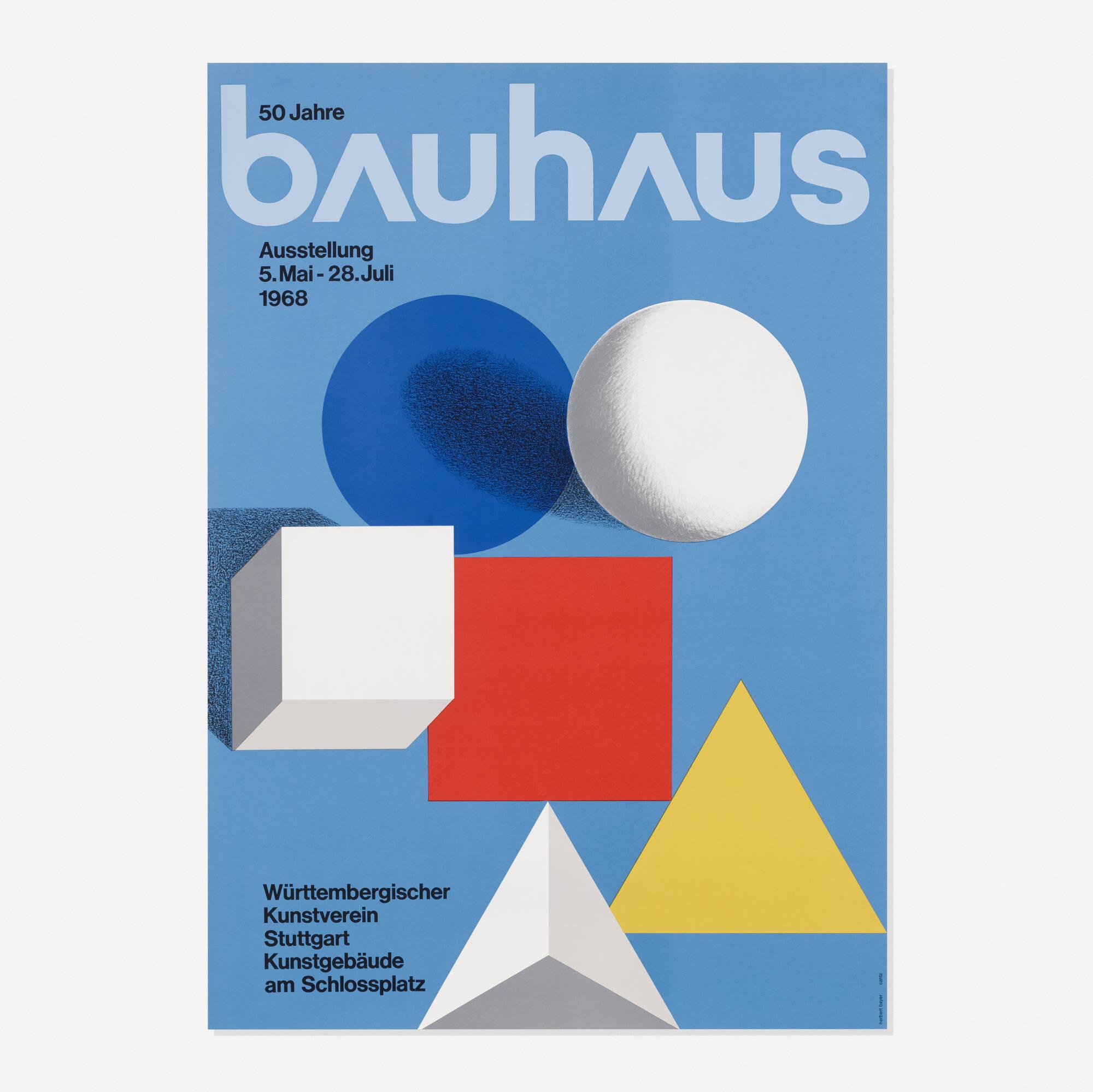 158: Herbert Bayer / Bauhaus poster (1 of 1)