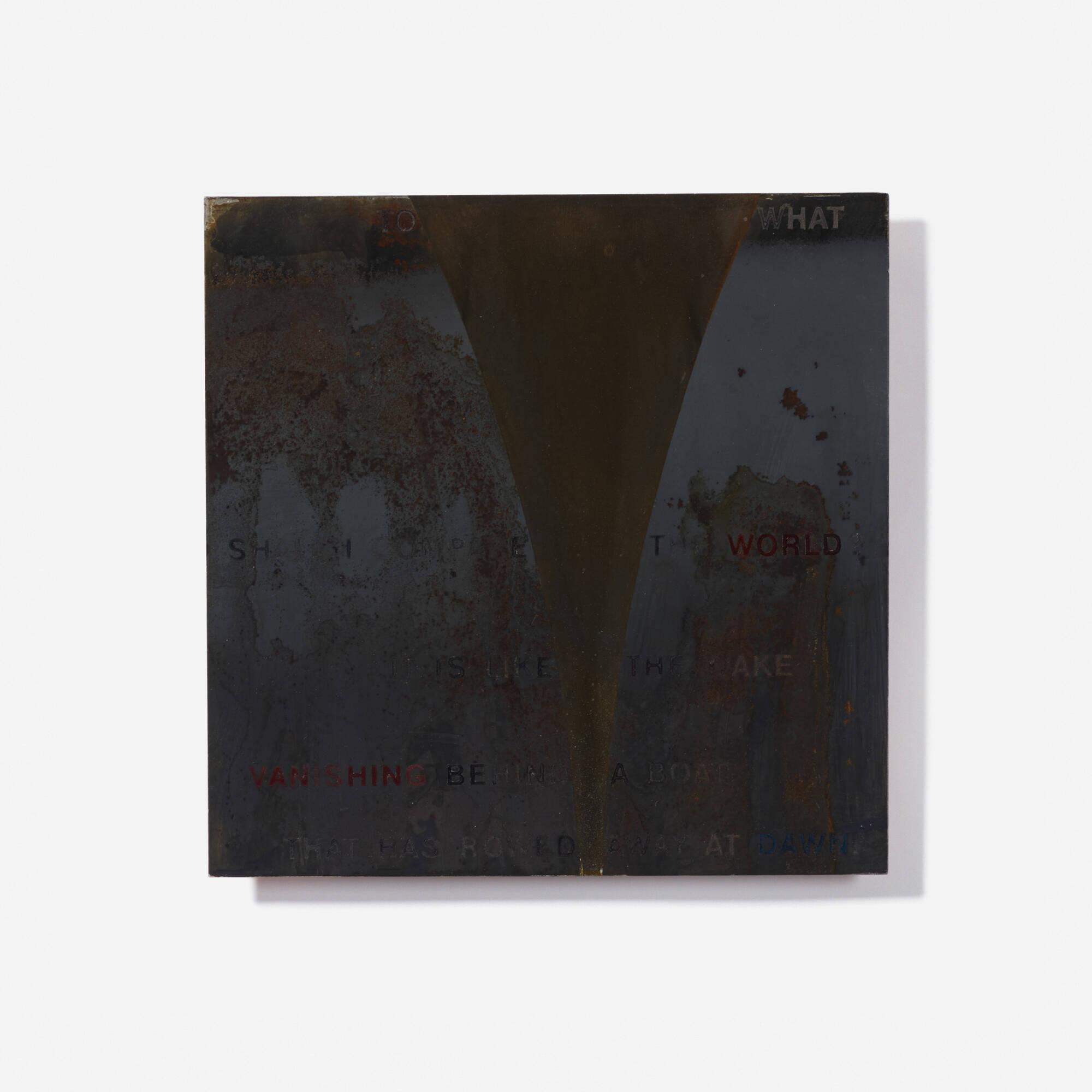 158: David Barr / Gossamer (Poetry Fragment) (1 of 2)