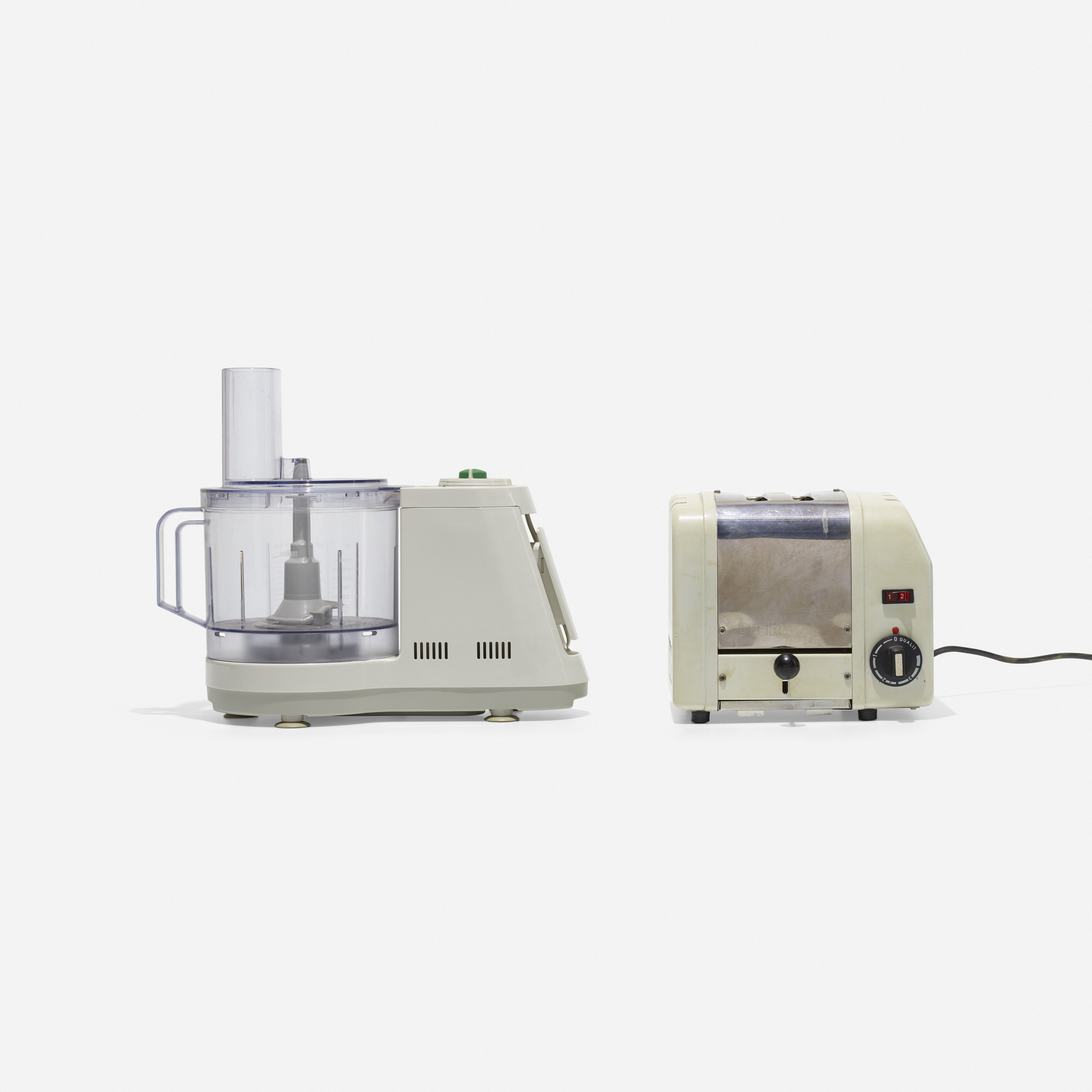 158: Braun and Dualit / kitchen appliances, set of two (1 of 1)