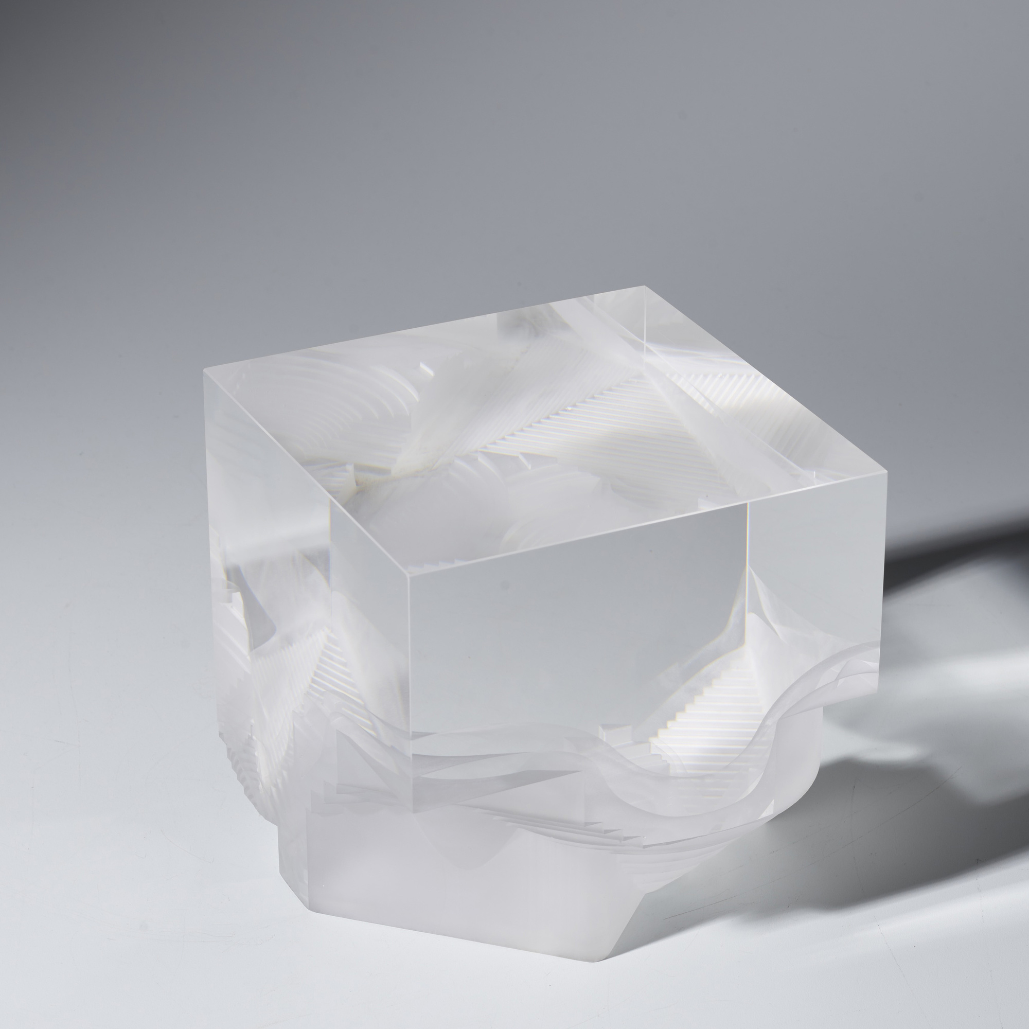 158: Steven Weinberg / Cube no. 981201 (2 of 5)