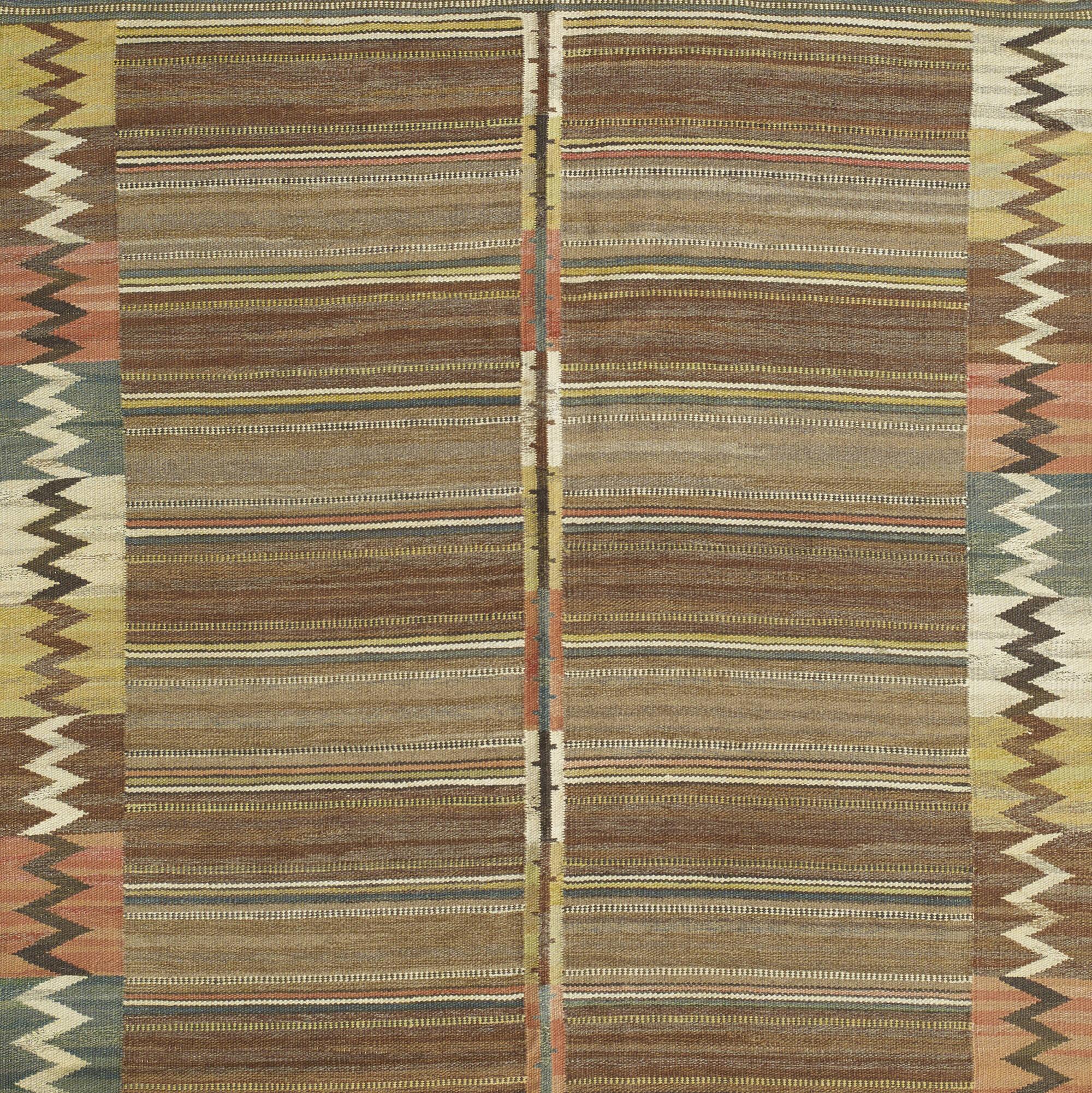 158: Märta Måås-Fjetterström / Viggbård flatweave carpet (2 of 3)