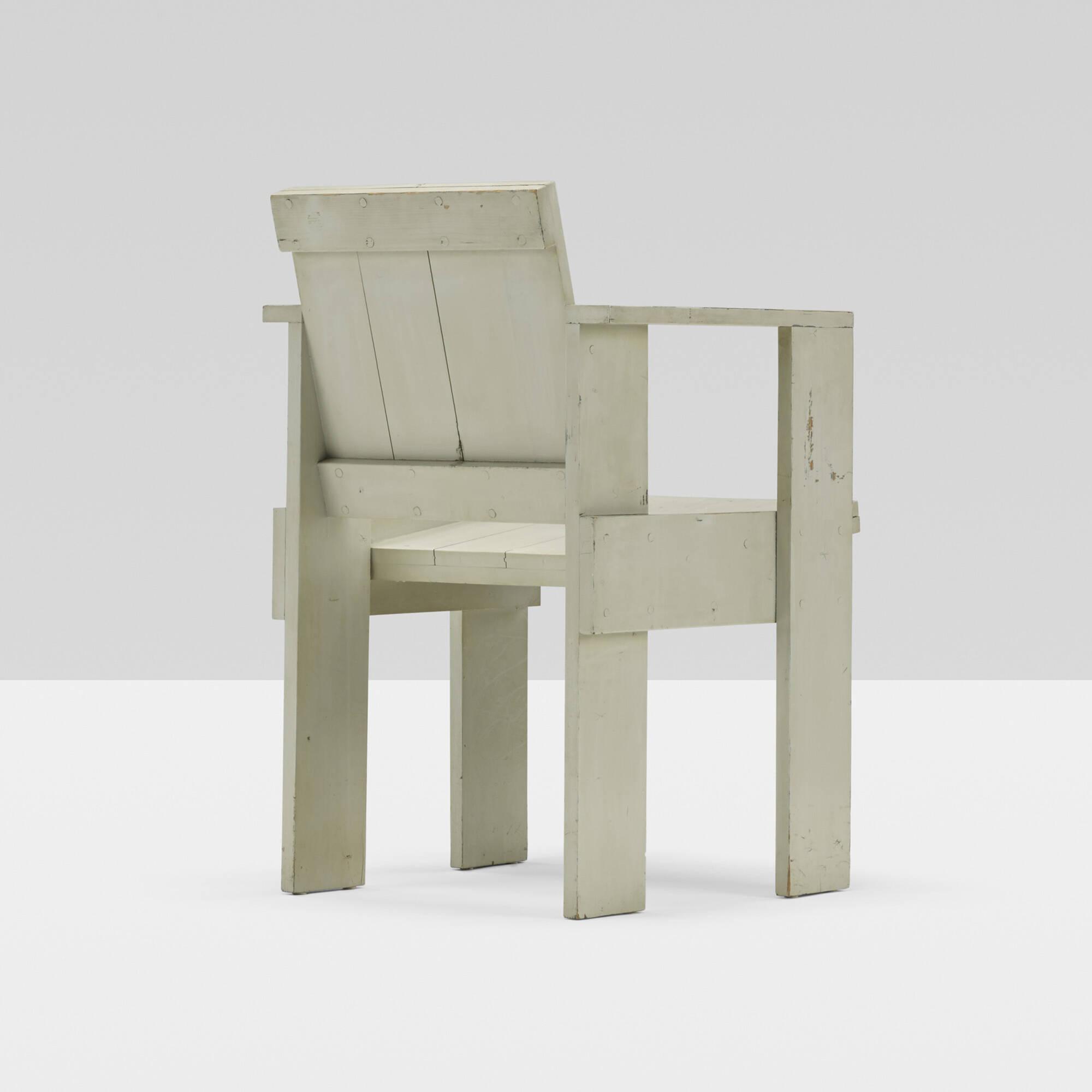 Merveilleux 159: Gerrit Rietveld / Crate Chair (1 Of 4)
