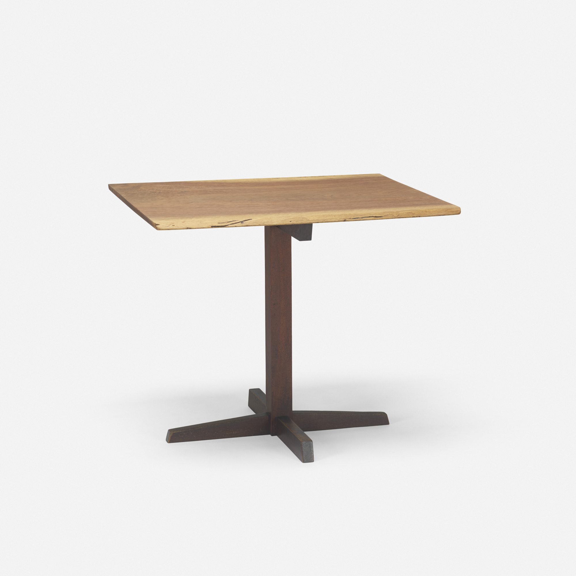 159: George Nakashima / Pedestal table (1 of 2)
