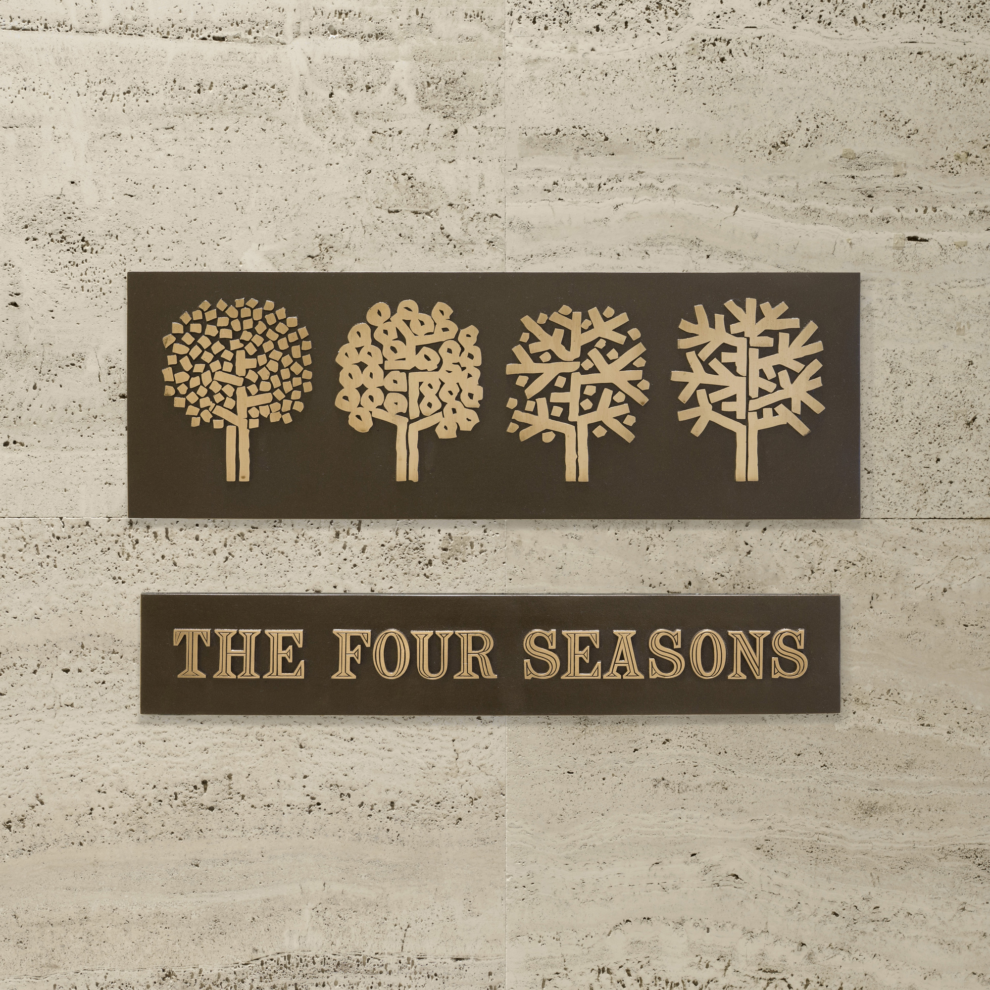 159: Emil Antonucci / The Four Seasons sign (1 of 1)