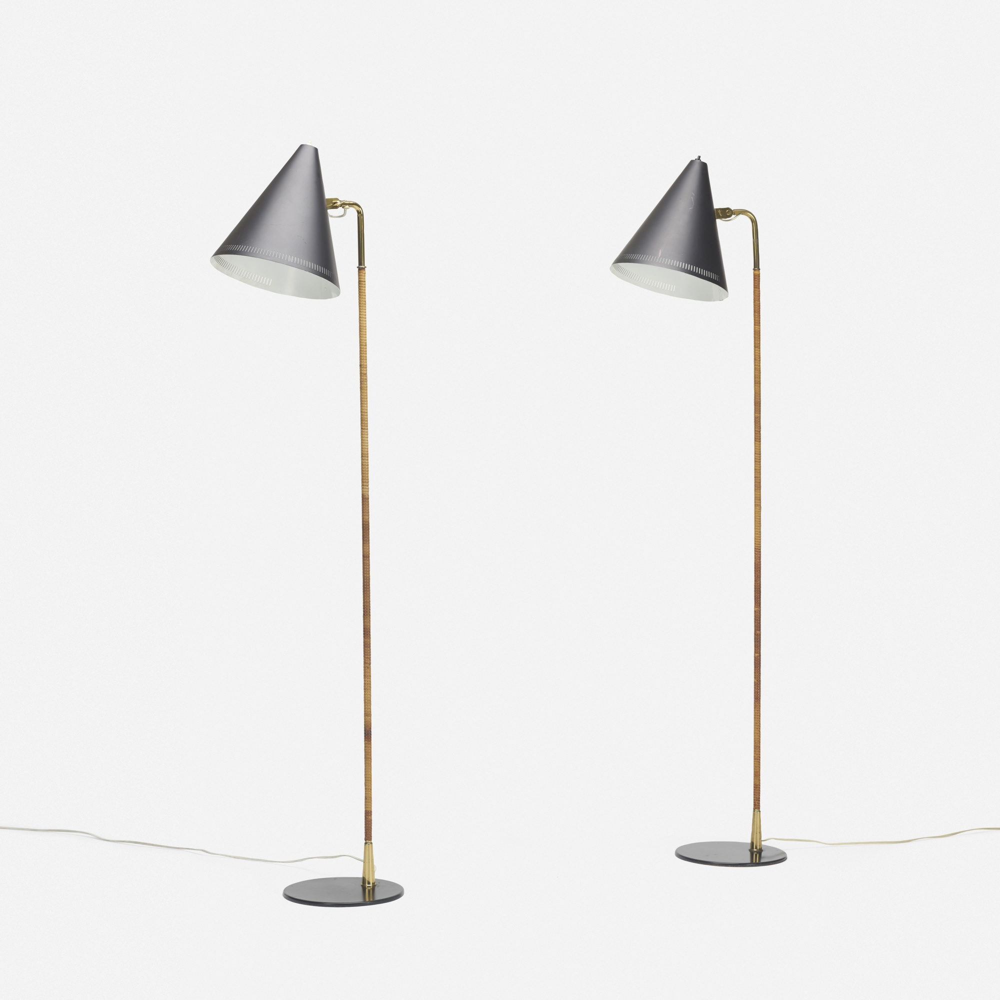 159: Paavo Tynell / floor lamps, pair (2 of 3)