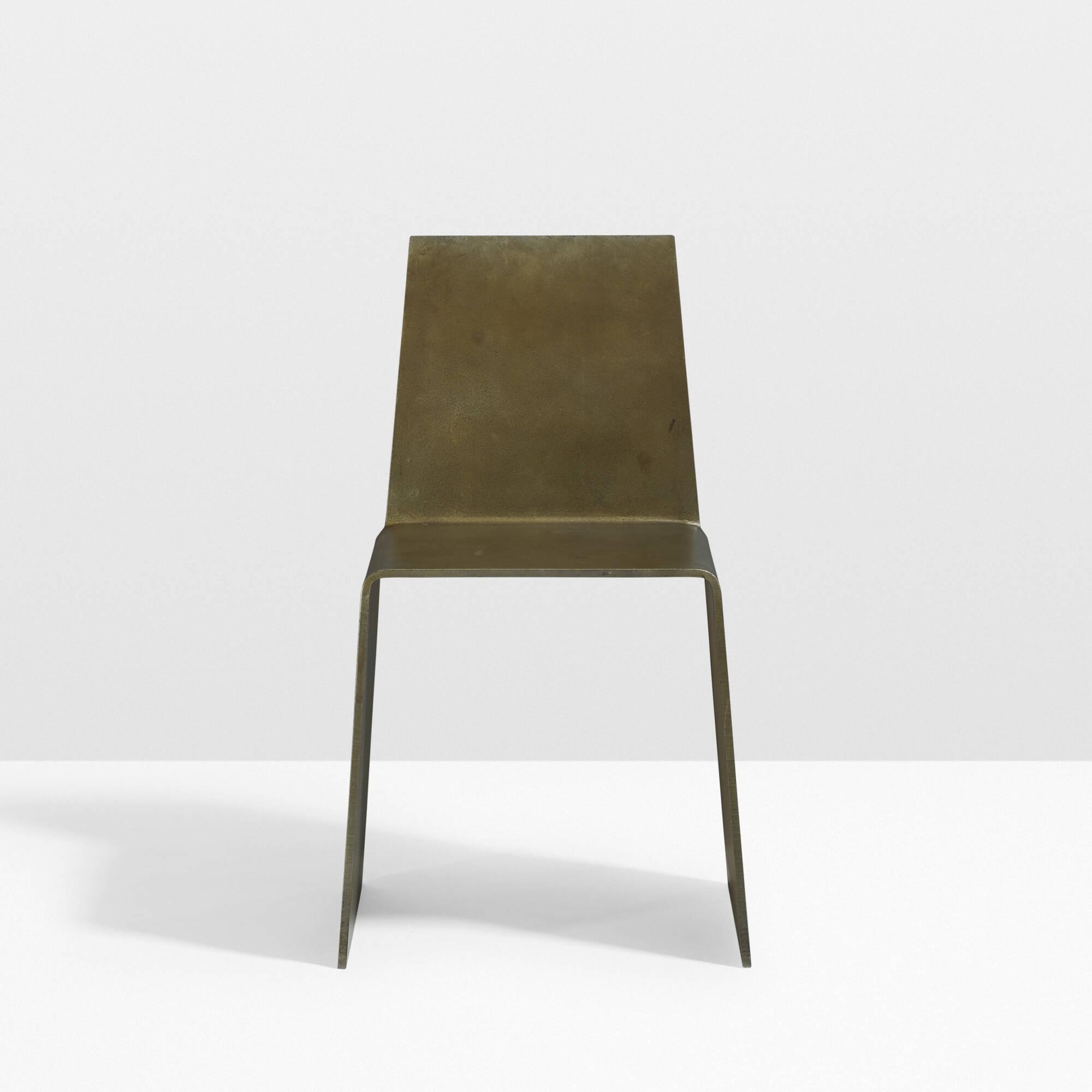 ... 15: Scott Burton / Steel Furniture Chair (2 Of 4)