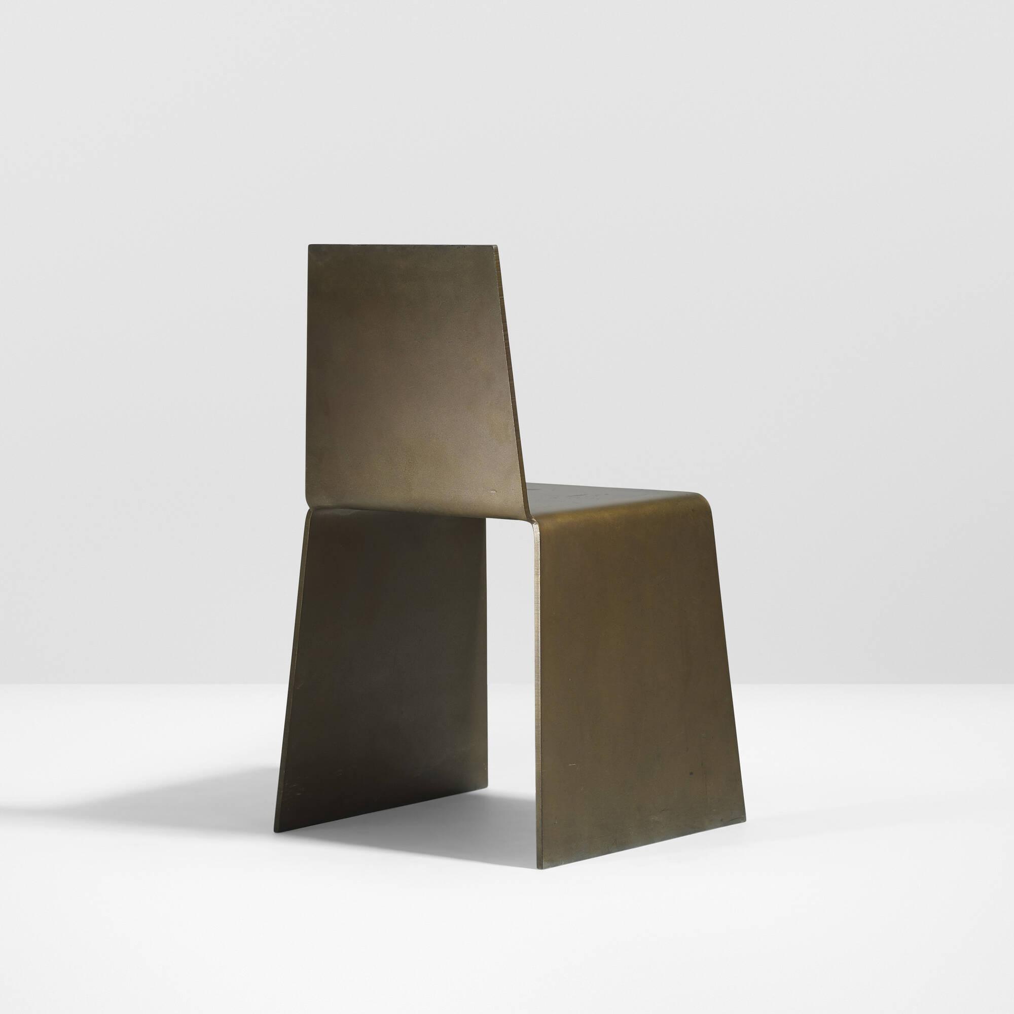 ... 15: Scott Burton / Steel Furniture Chair (3 Of 4)