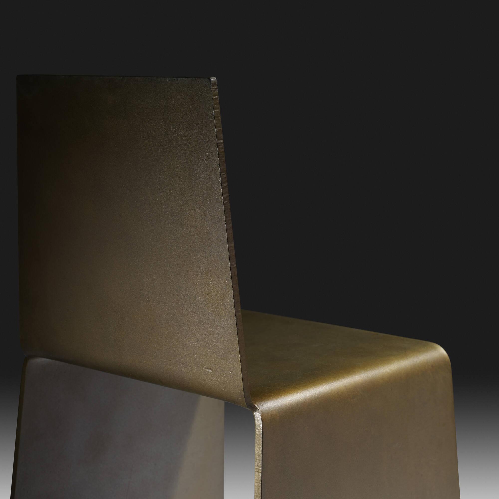 Perfect ... 15: Scott Burton / Steel Furniture Chair (4 Of 4)