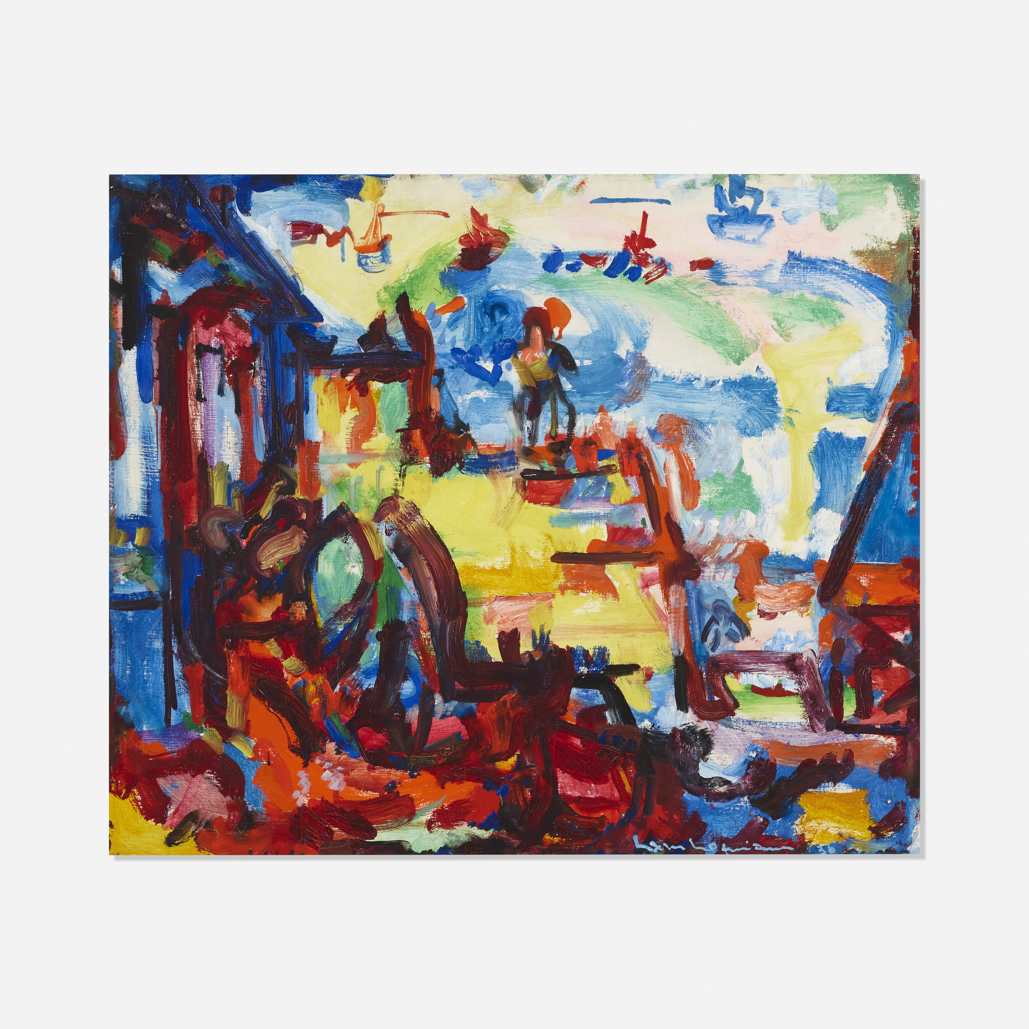 160: Hans Hofmann / On the Pier (1 of 1)