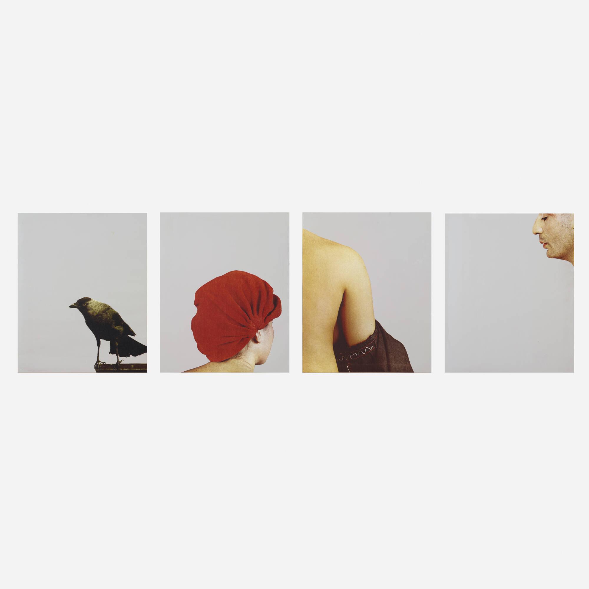 160: Michelangelo Pistoletto / Cartella A (portfolio of four works) (1 of 1)