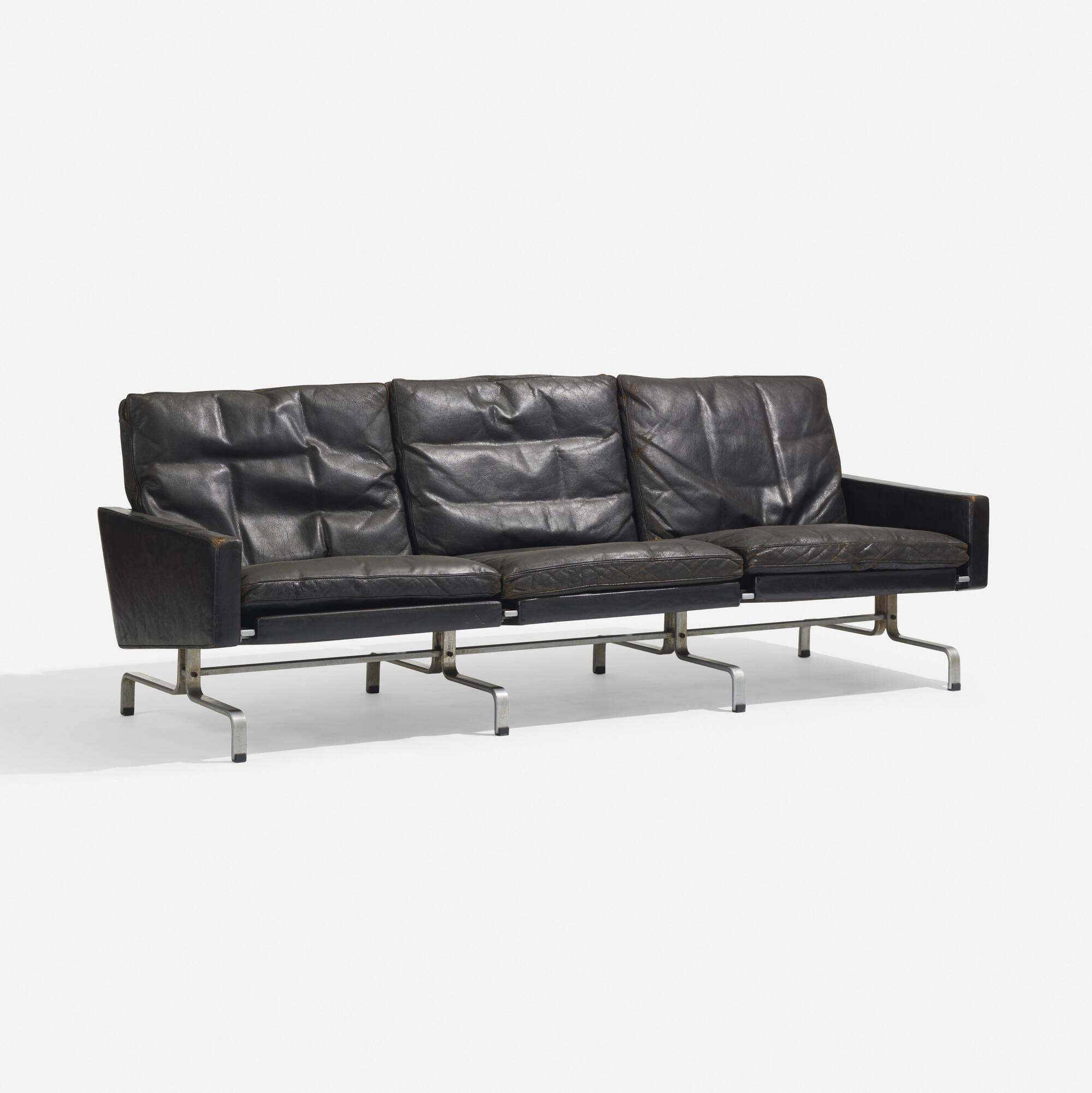 160: POUL KJAERHOLM, PK 31/3 sofa < Scandinavian Design, 18 May 2017 ...