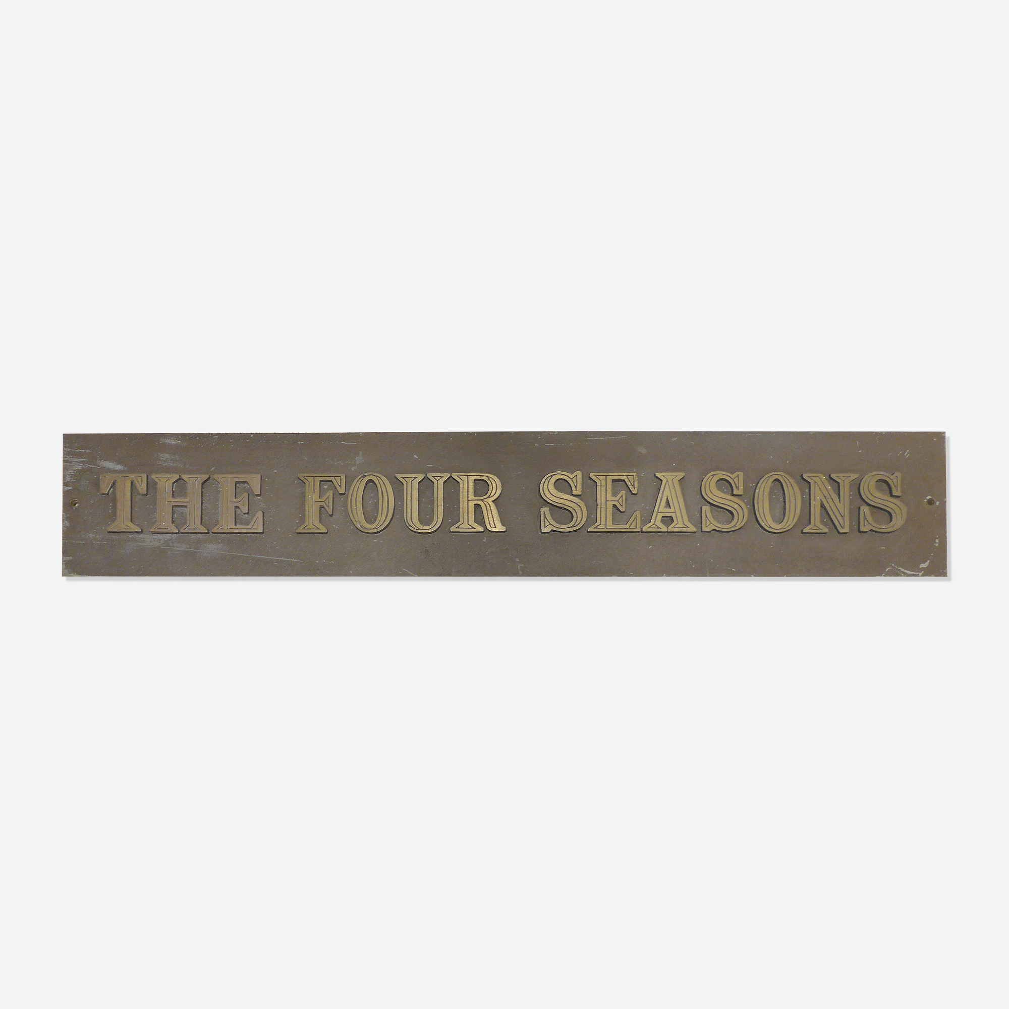 160: Emil Antonucci / The Four Seasons sign (1 of 1)