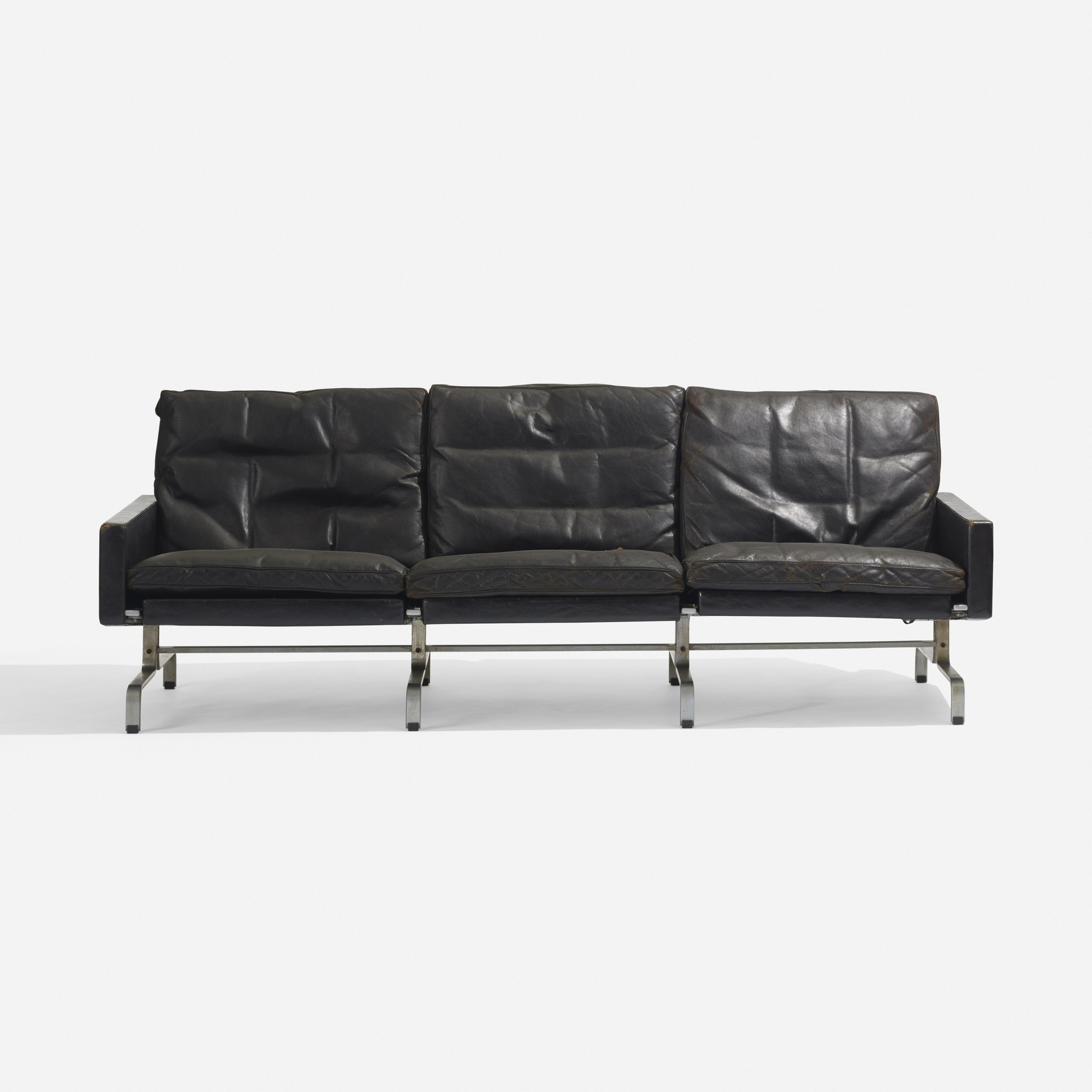 160 Poul Kjaerholm PK 31 3 sofa Scandinavian Design 18 May