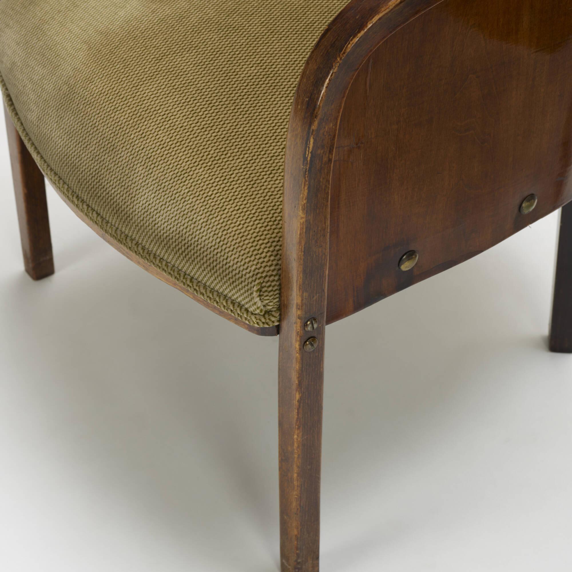 160: J. & J. Kohn / armchairs model W795, pair (3 of 3)