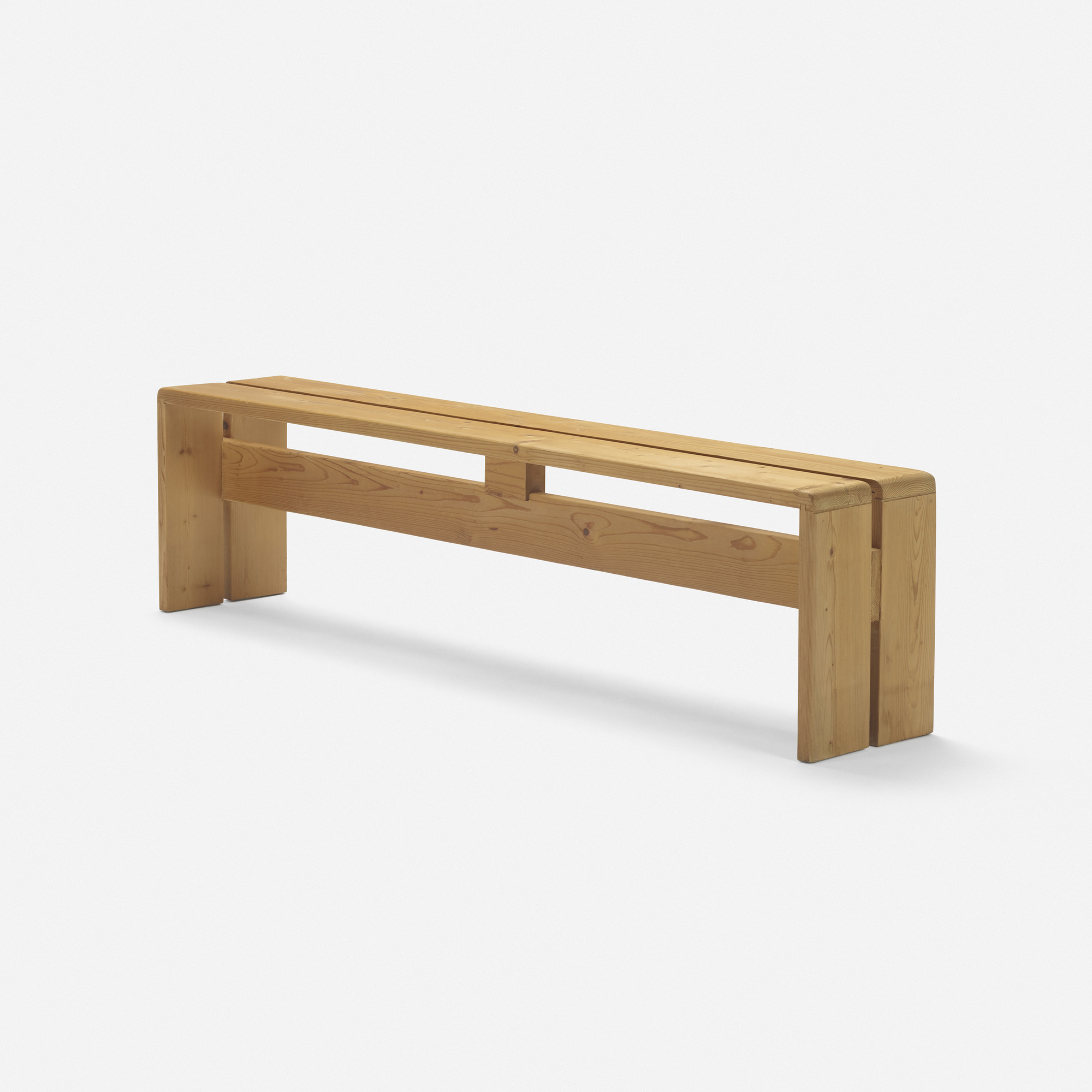 161: Charlotte Perriand / bench from Les Arcs, Savoie (1 of 2)