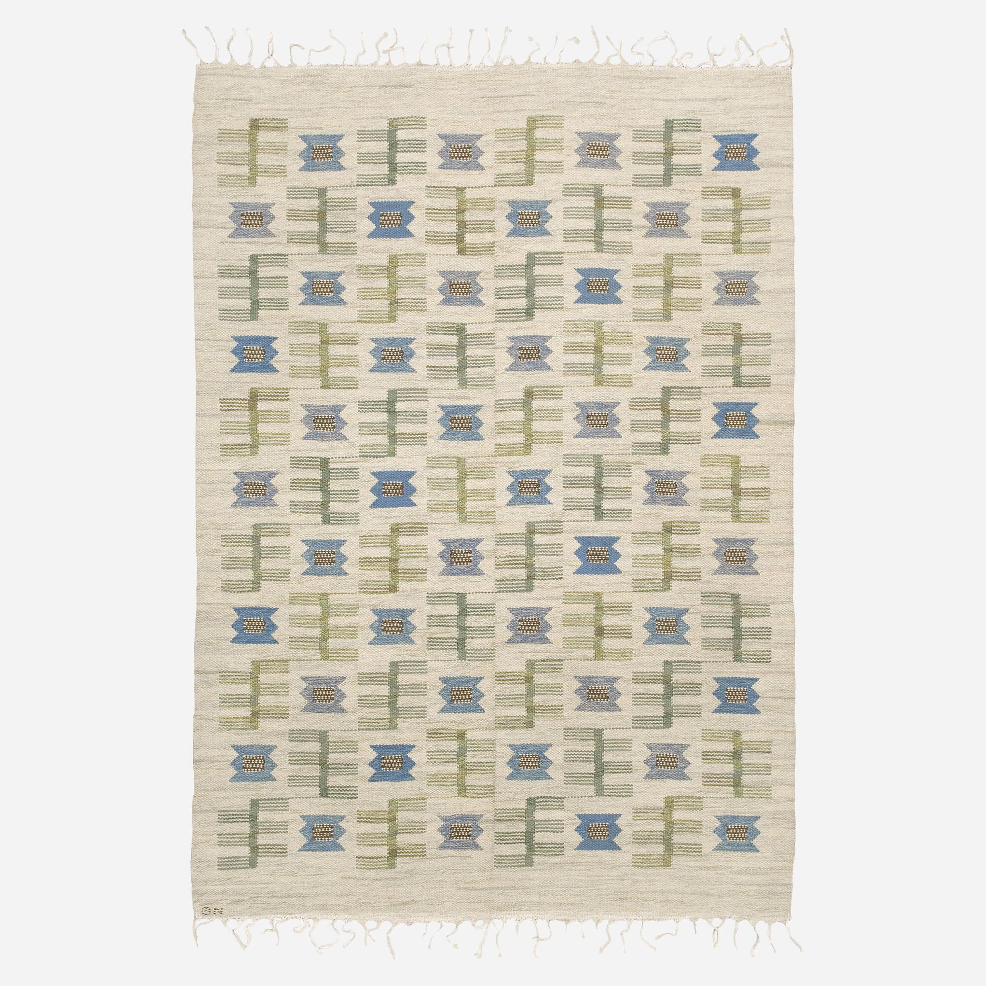 161: Scandinavian / flatweave carpet (1 of 1)