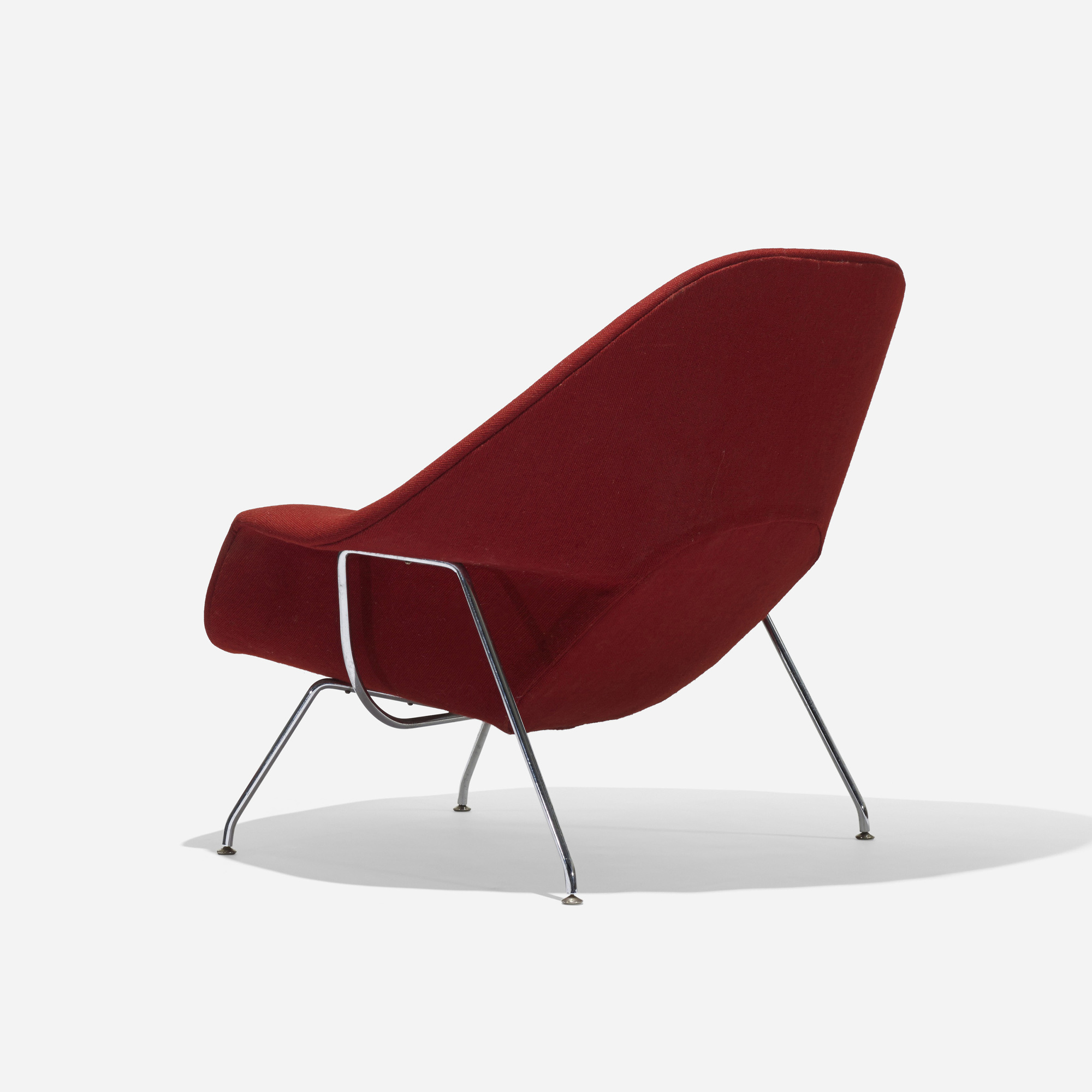 chair designed the groundbreaking saarinen knoll womb basket florence full that was pin for at like of s request a eero