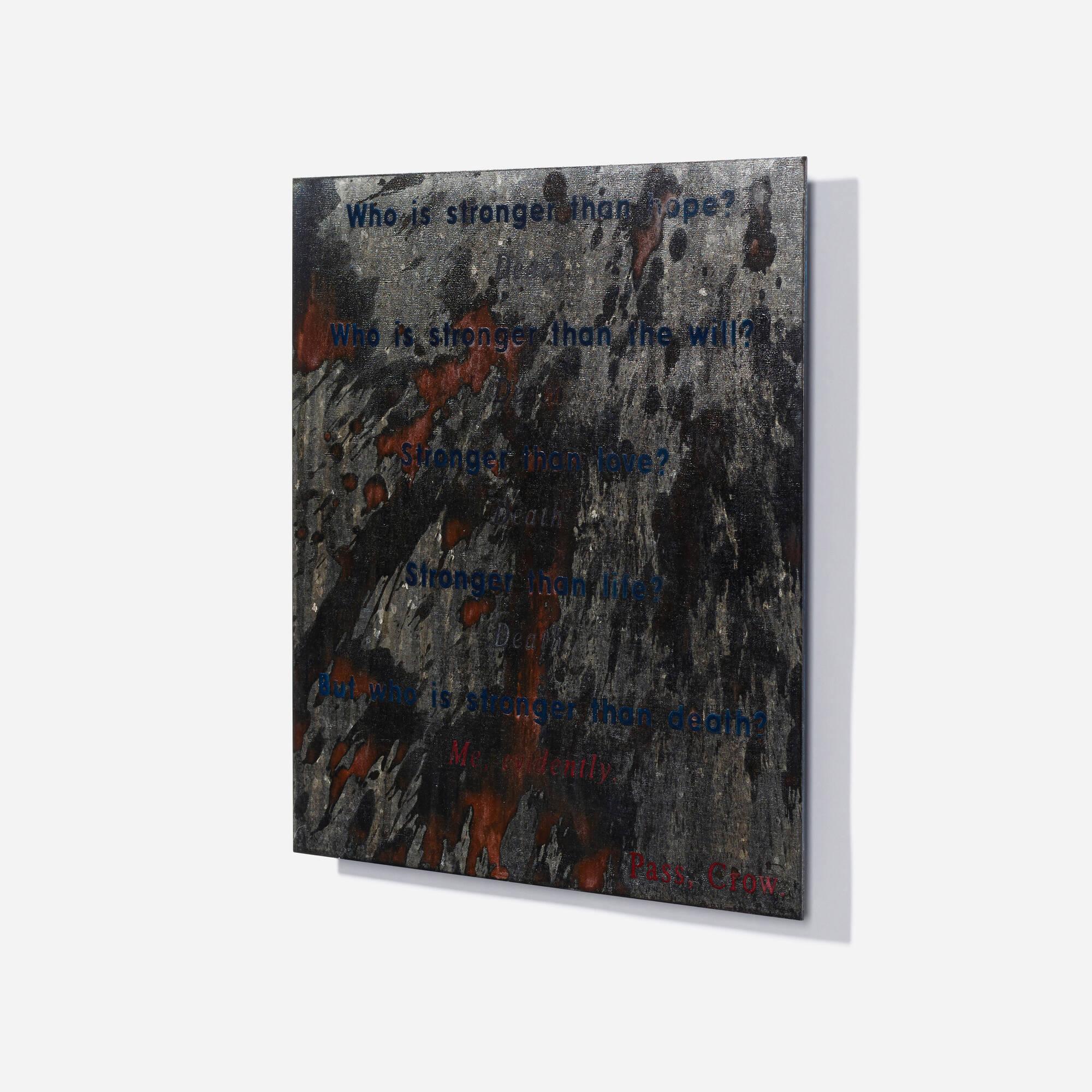 161: David Barr / Gossamer (Poetry Fragment) (2 of 3)
