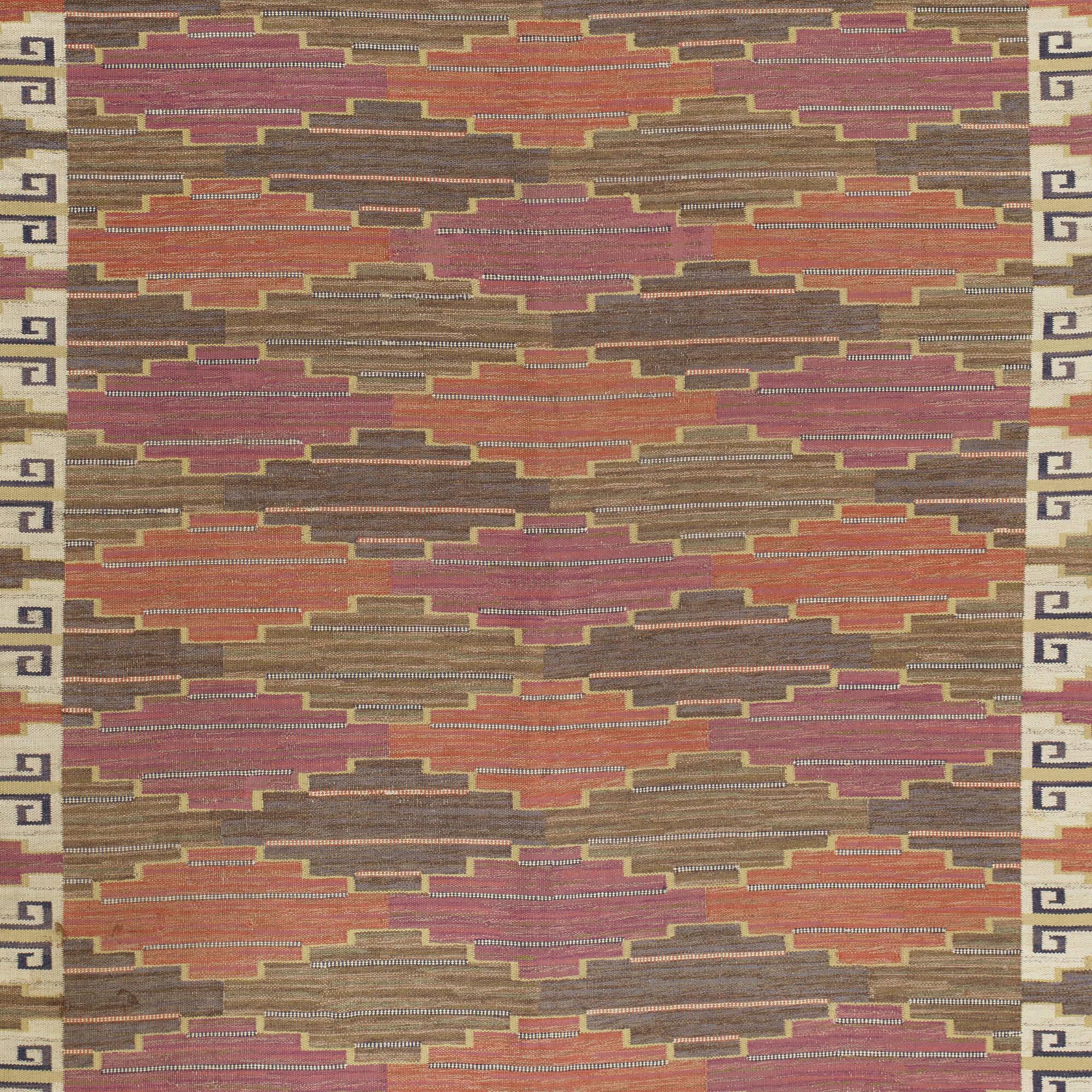161: Märta Måås-Fjetterström / Bruna Heden flatweave carpet (3 of 3)