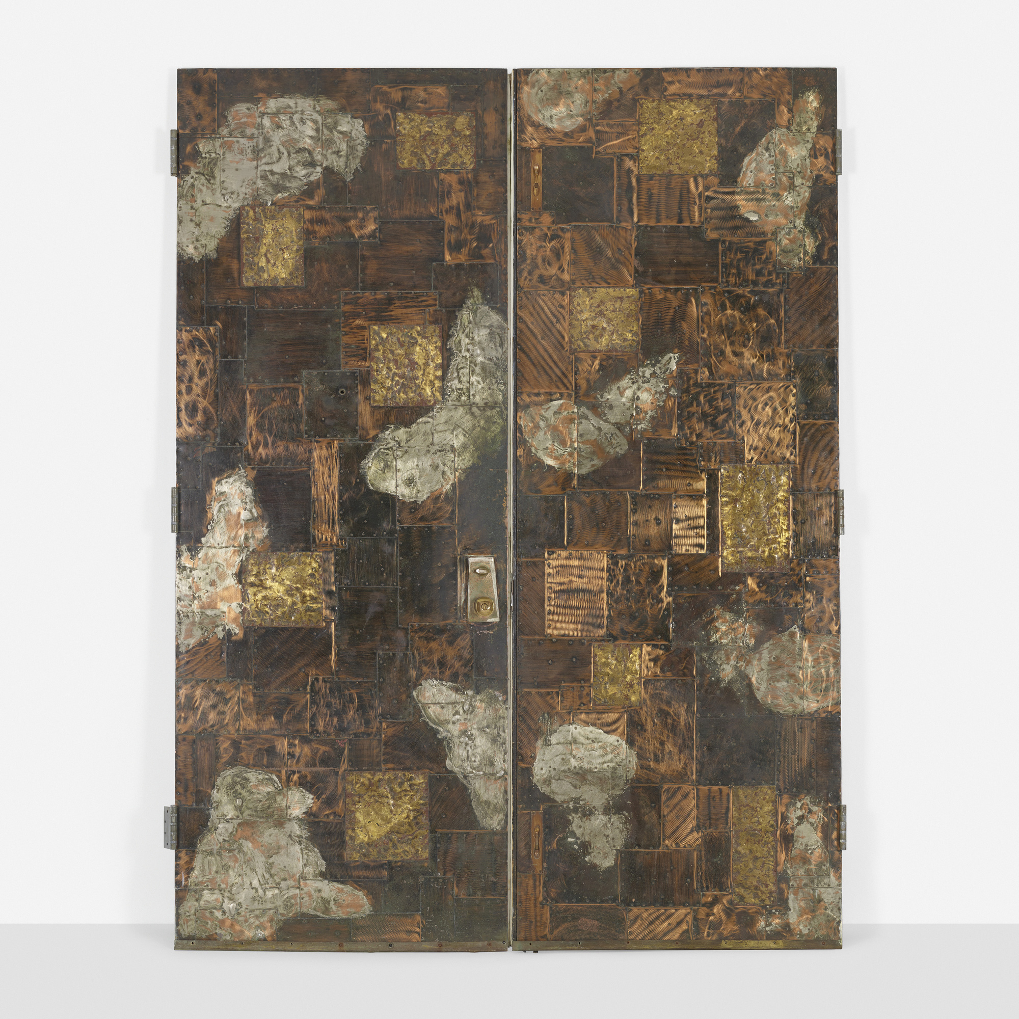 162: Paul Evans / custom doors, pair (1 of 2)
