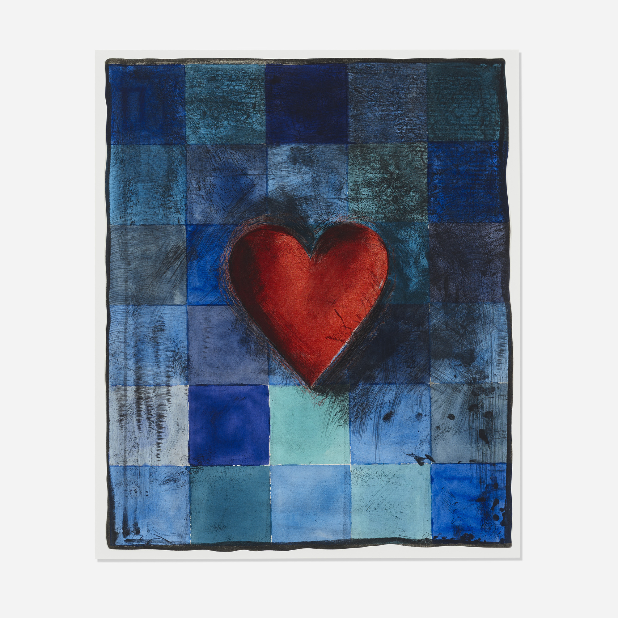 162: Jim Dine / Hart in Blu (1 of 1)