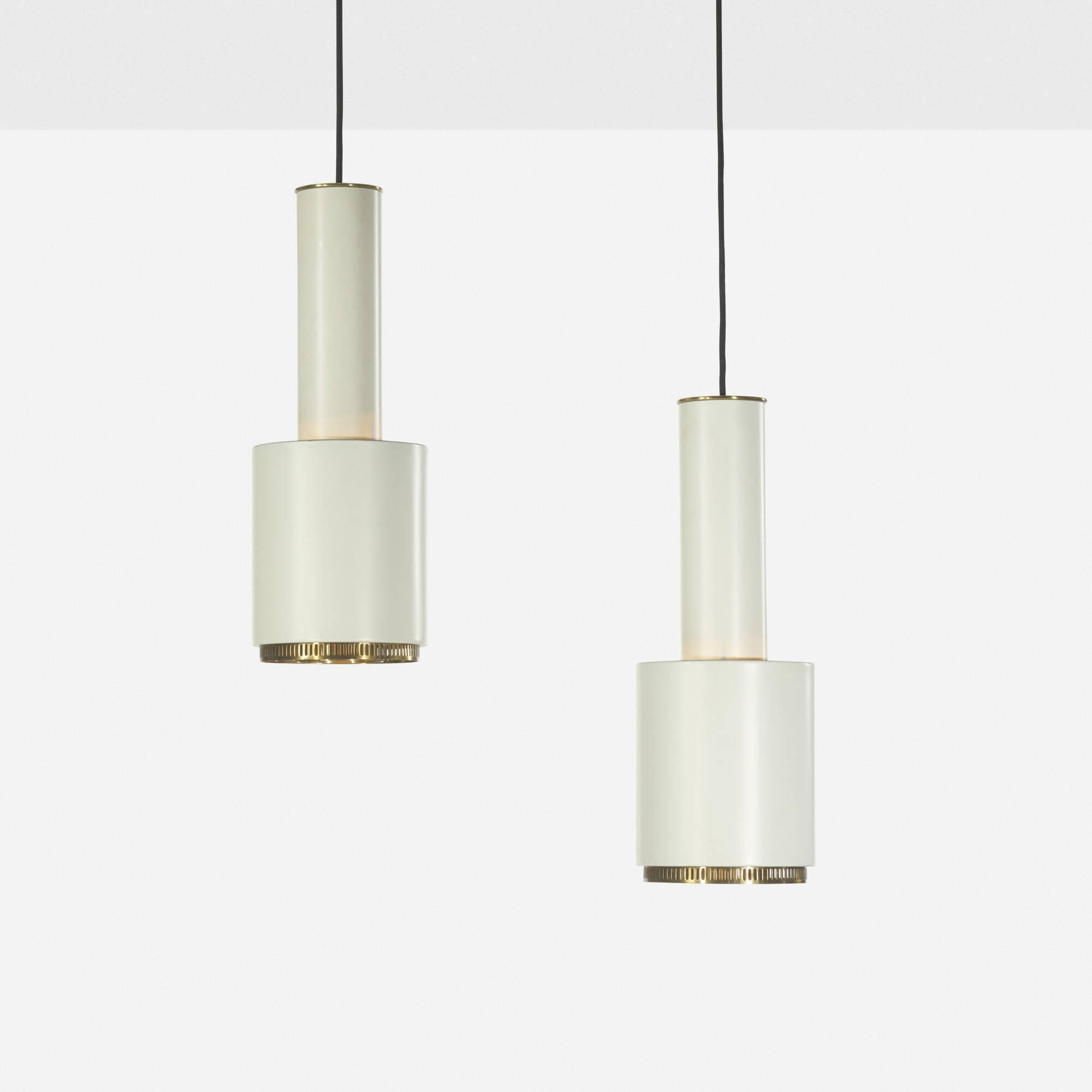 162: Alvar Aalto / pendant lamps, pair (1 of 1)