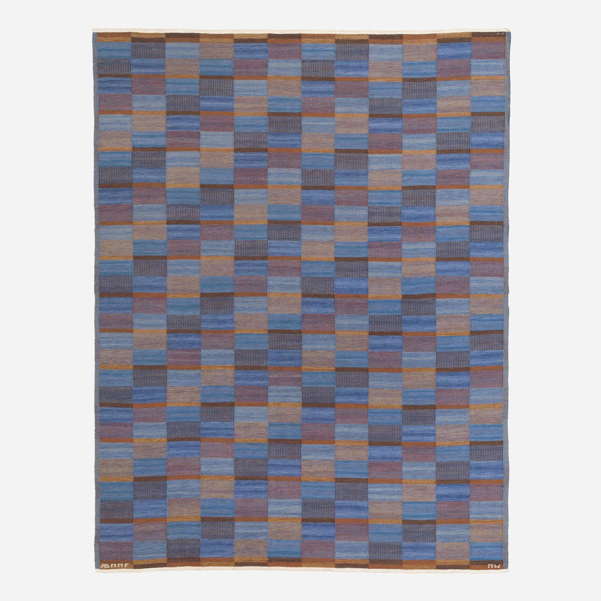 162: Mai Wellner / Slagrutan flatweave carpet (1 of 2)