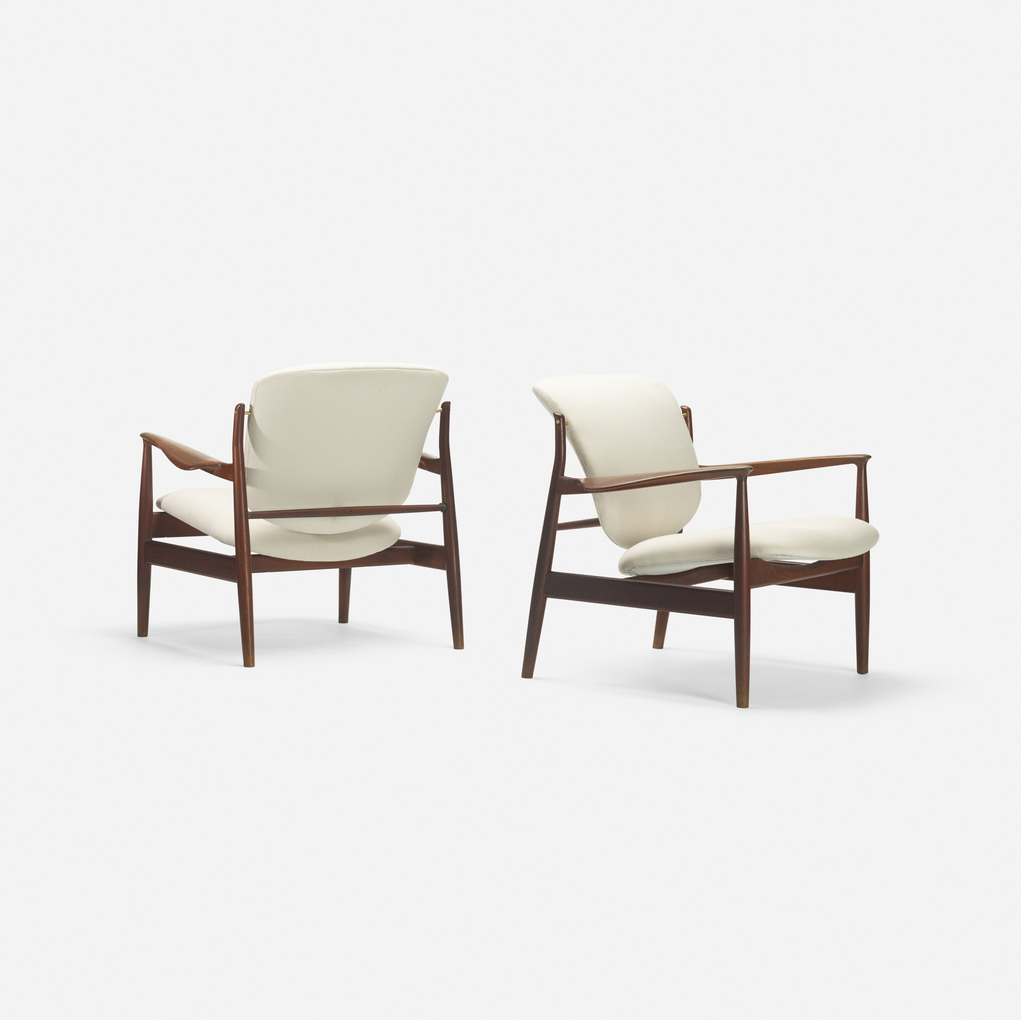 162: Finn Juhl / lounge chairs, pair (2 of 2)