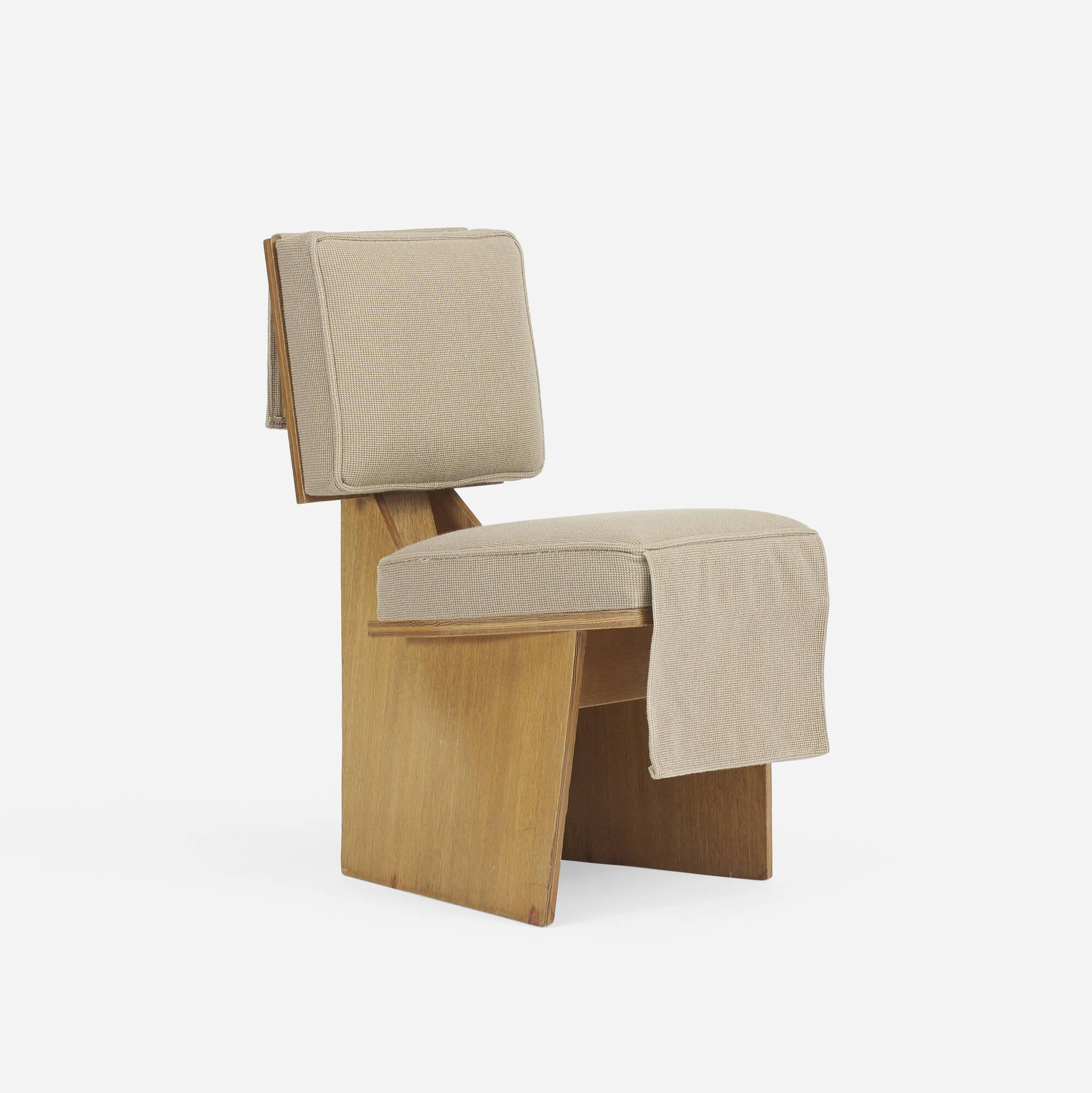 ... 162: Frank Lloyd Wright / Usonian Lounge Chair (2 Of 4)
