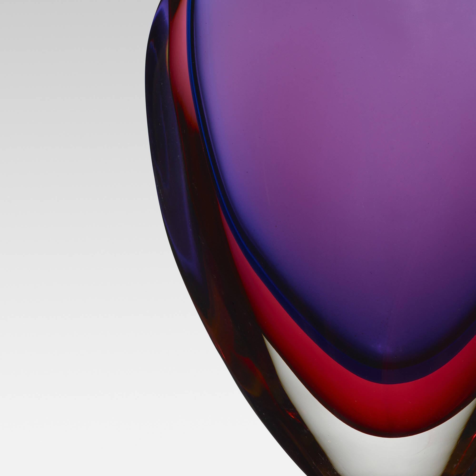 162: Flavio Poli / Valva vase, model 9814 (2 of 2)