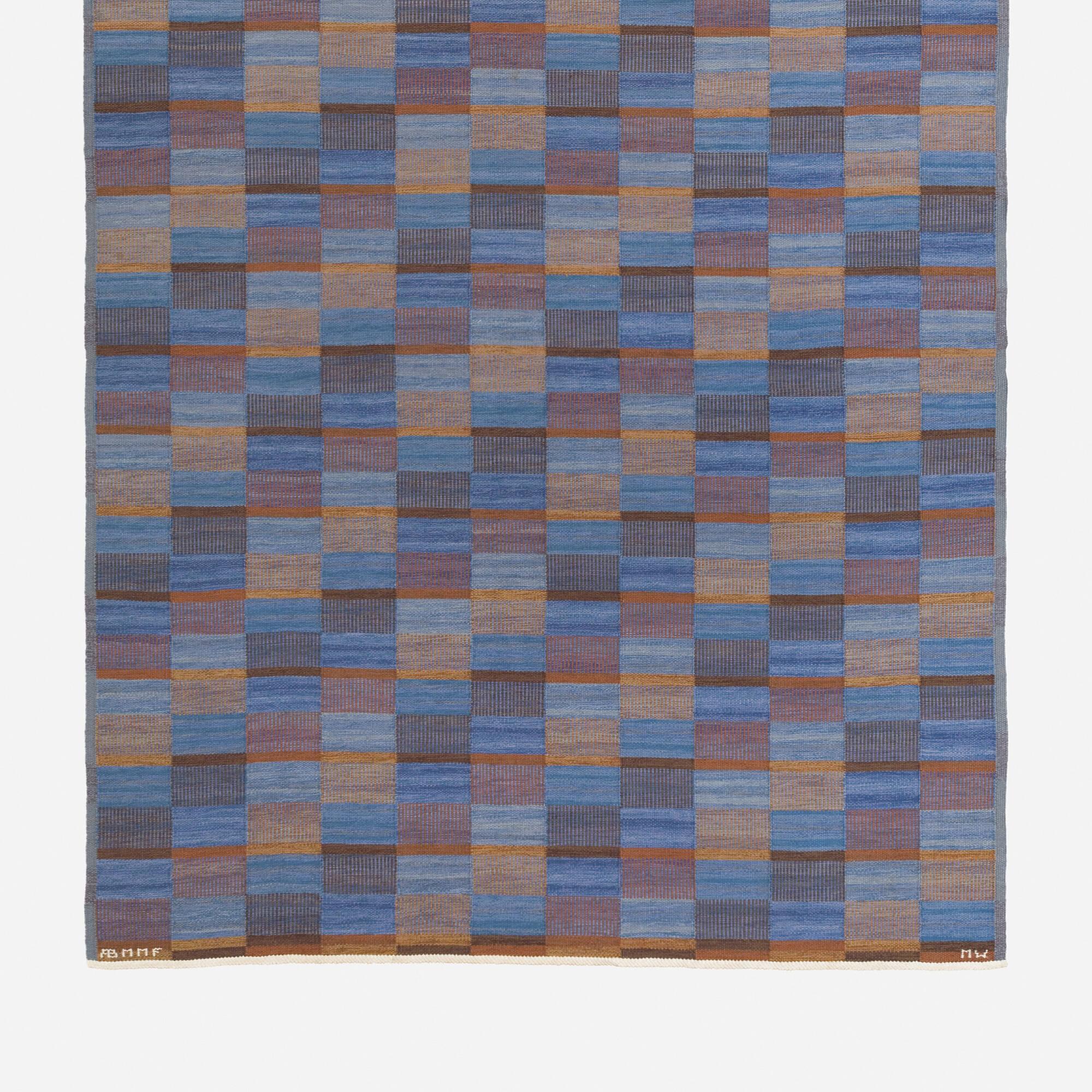 162: Mai Wellner / Slagrutan flatweave carpet (2 of 2)