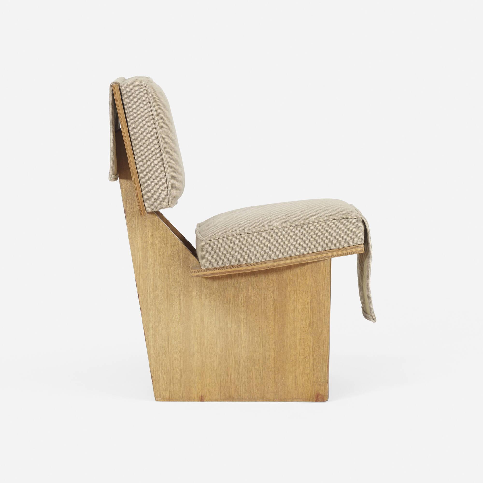 162 frank lloyd wright usonian lounge chair for Chair design 2000