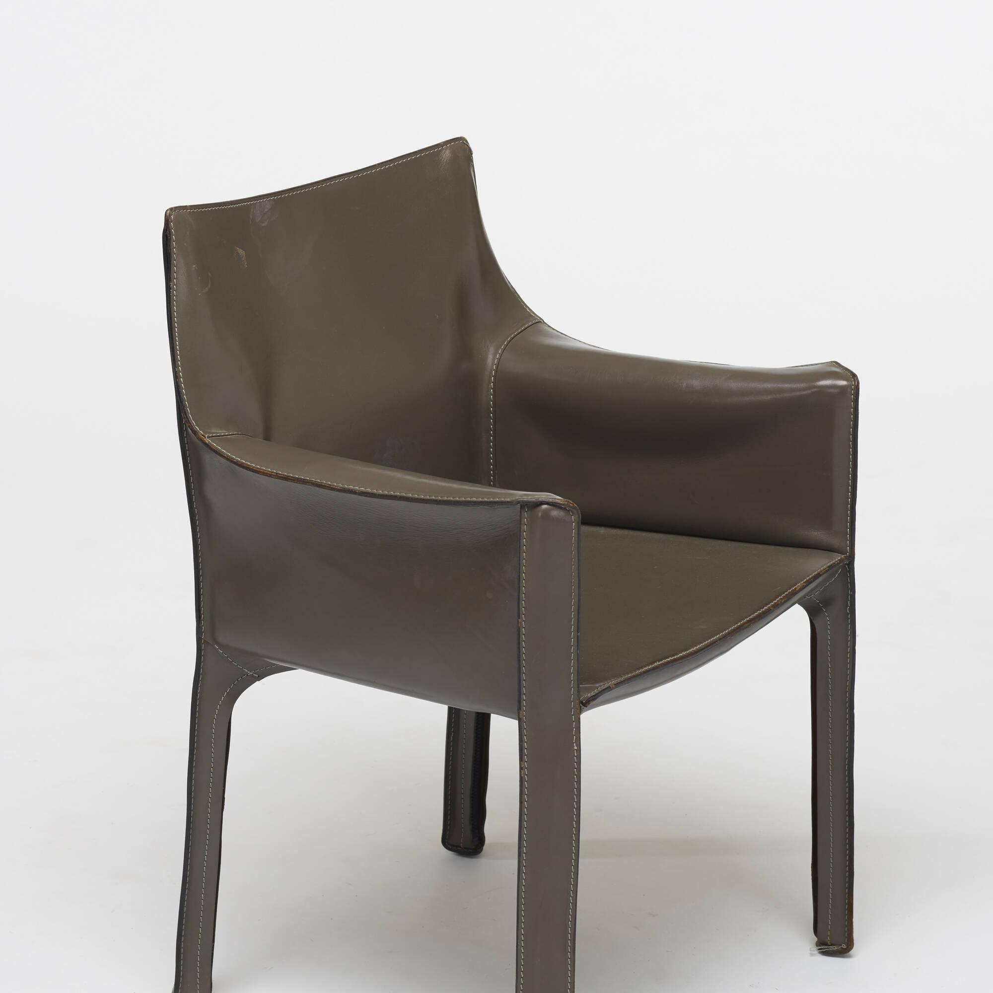 162: Mario Bellini / Cab armchair (3 of 4)