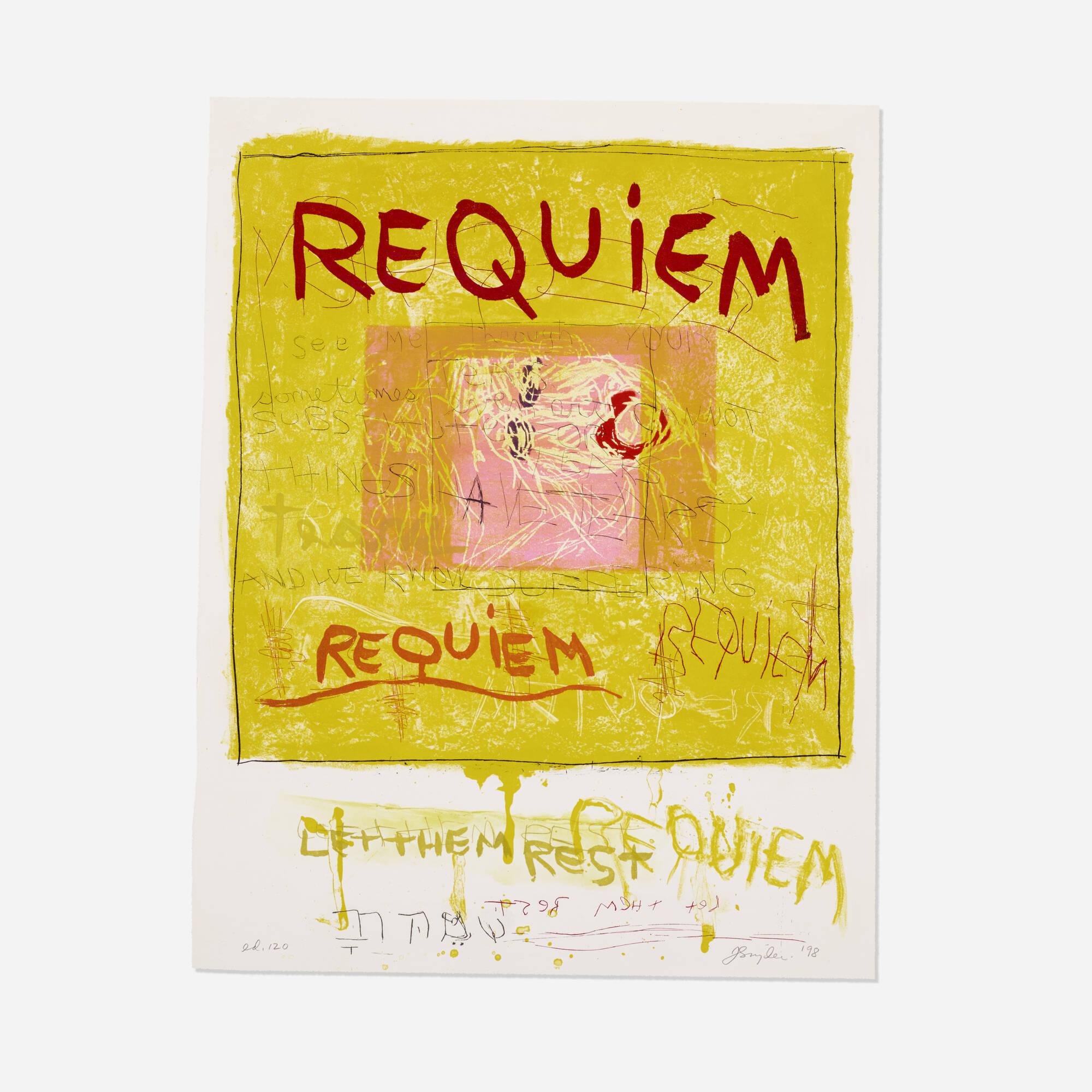 163: Joan Snyder / Requiem/Let Them Rest (1 of 1)