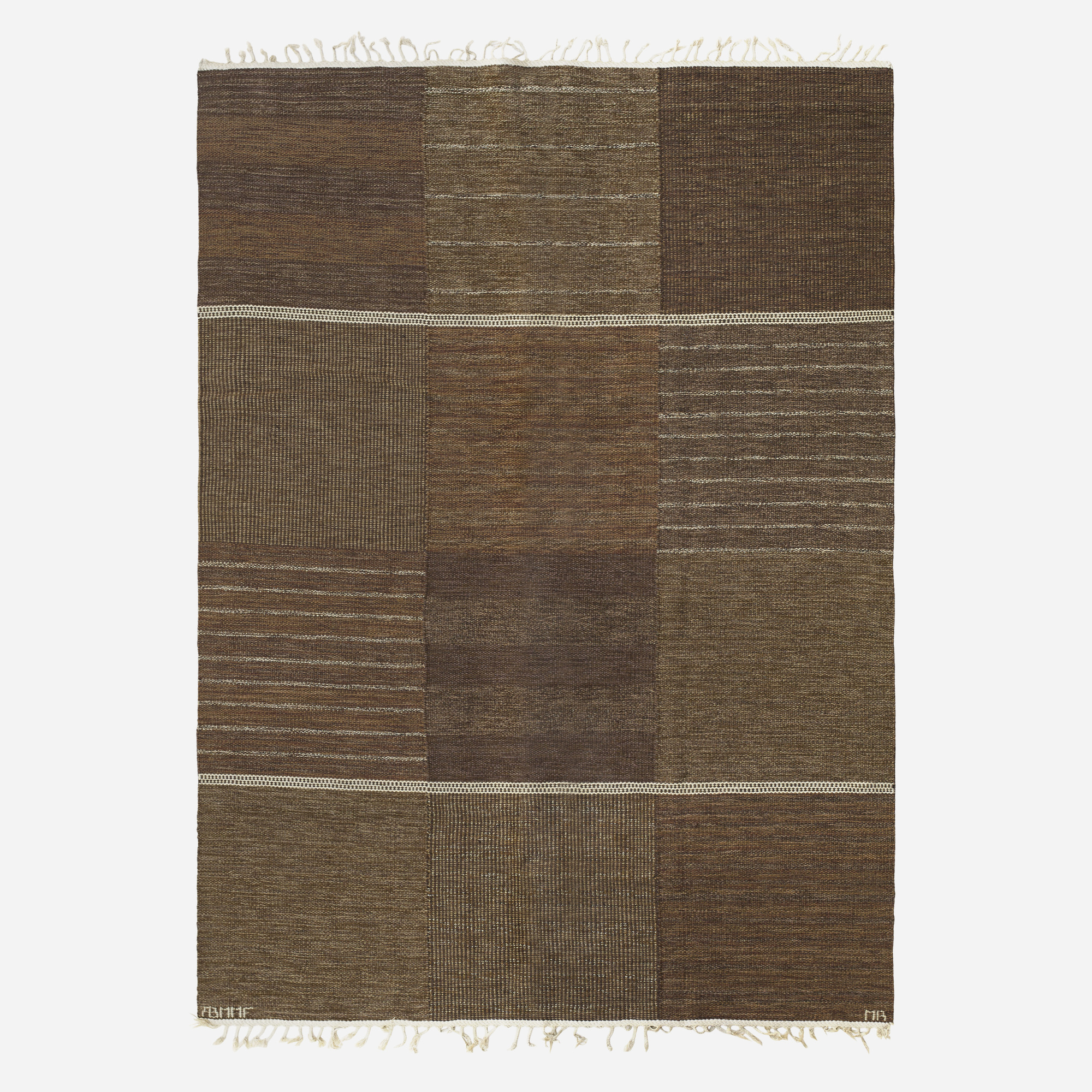 163: Marianne Richter / Tolv Rutor flatweave carpet (1 of 2)