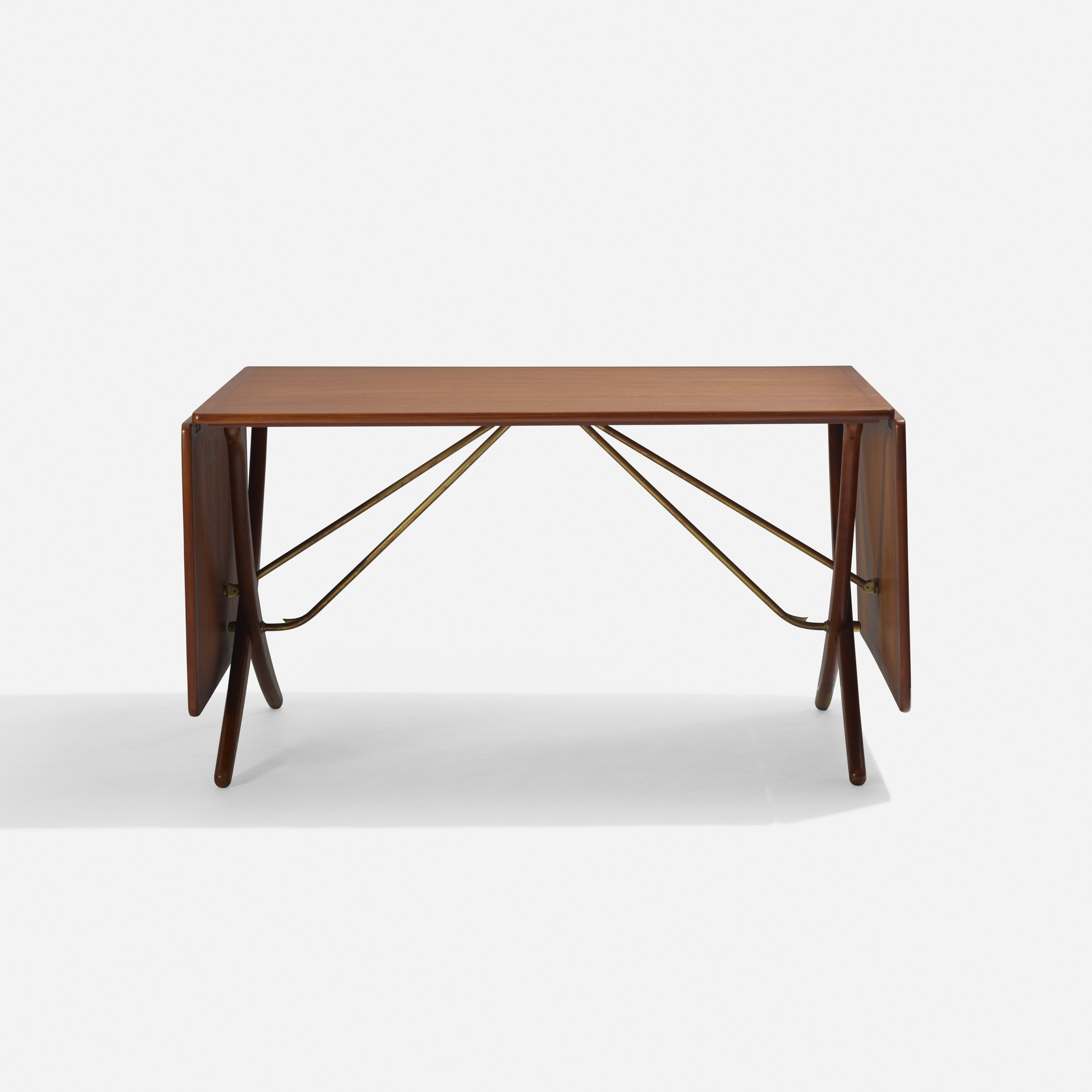 Great 163: Hans J. Wegner / Drop Leaf Dining Table, Model AT304 (2 Of 3) ...