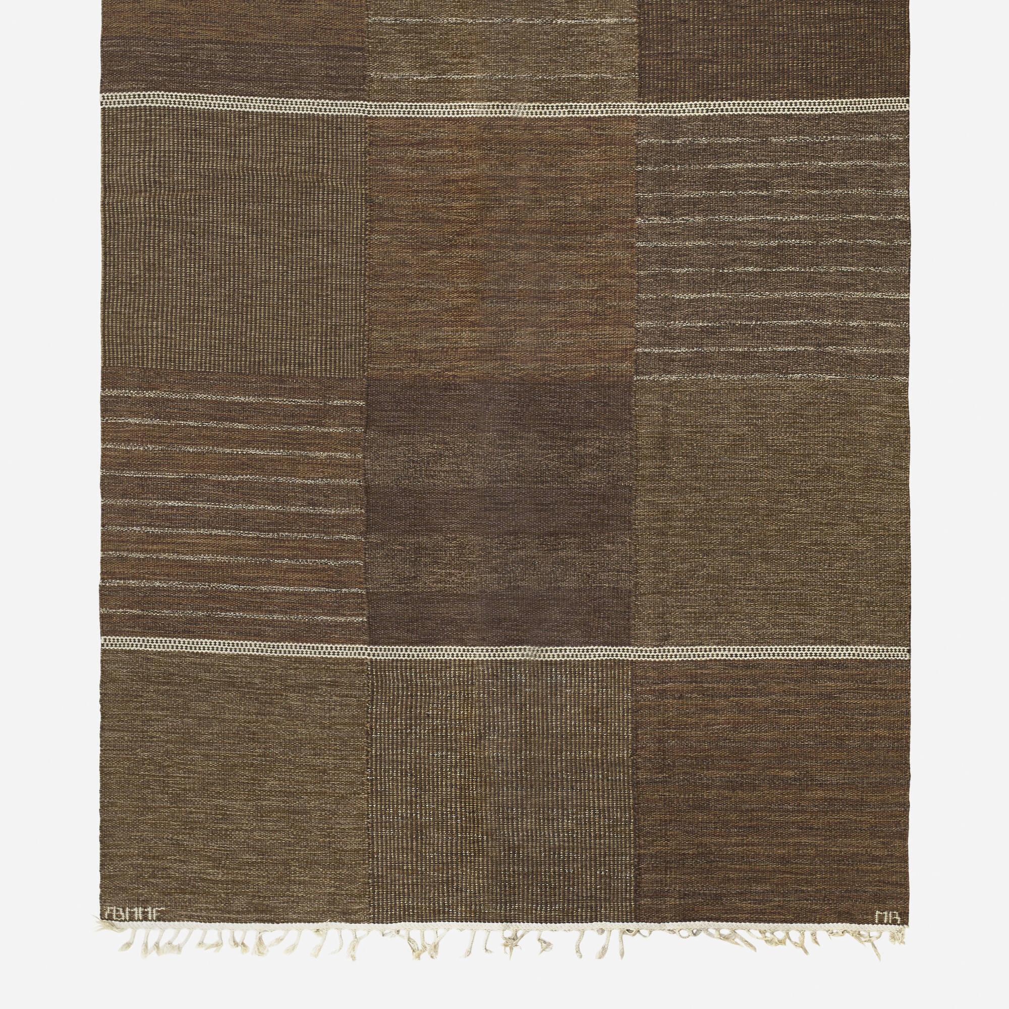 163: Marianne Richter / Tolv Rutor flatweave carpet (2 of 2)