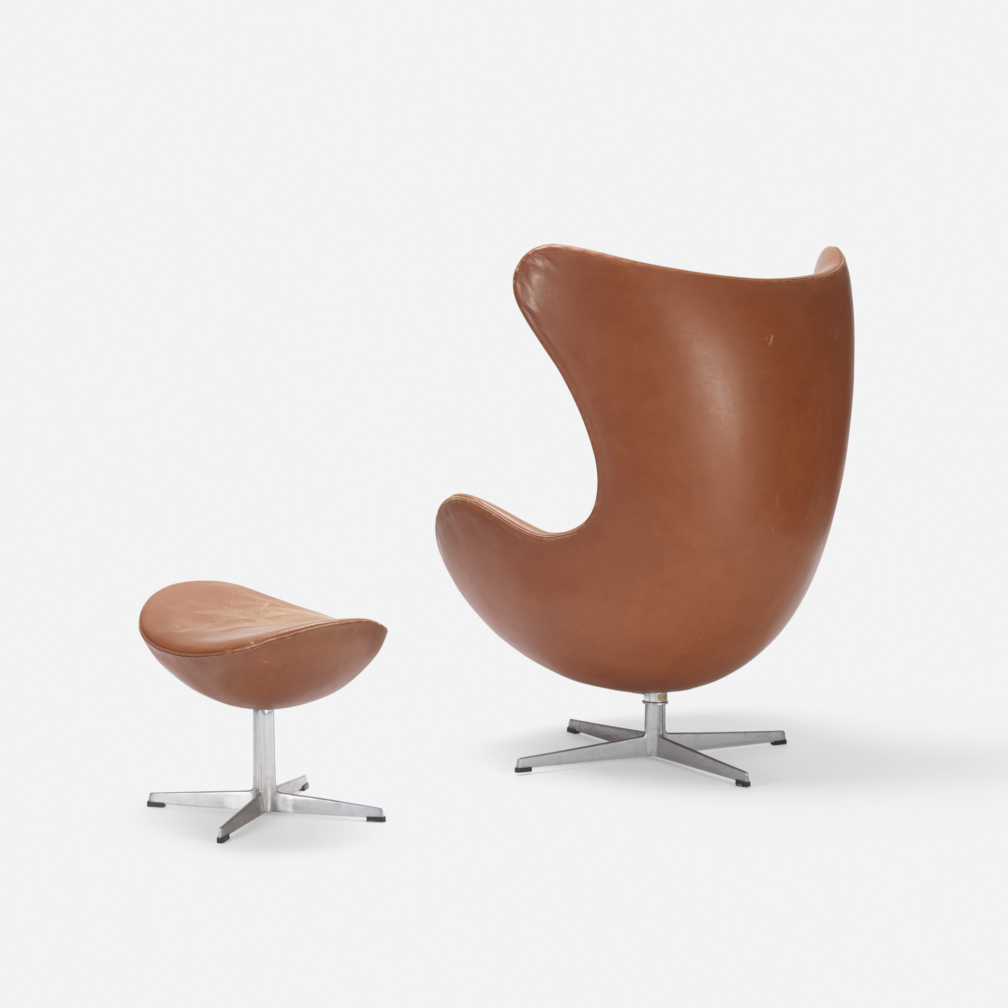 163: Arne Jacobsen / Egg chair and ottoman (3 of 3)