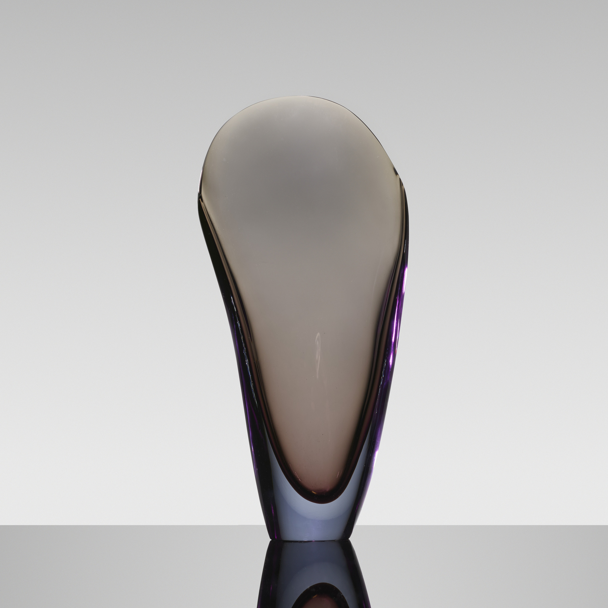 164: Flavio Poli / Valva vase, model 11485 (1 of 2)
