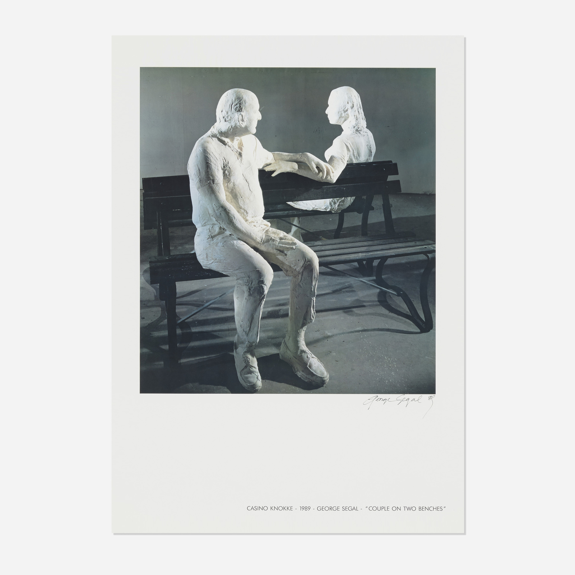 164: After George Segal / Untitled (poster for residences at the Knokke Casino, Belgium) (1 of 1)