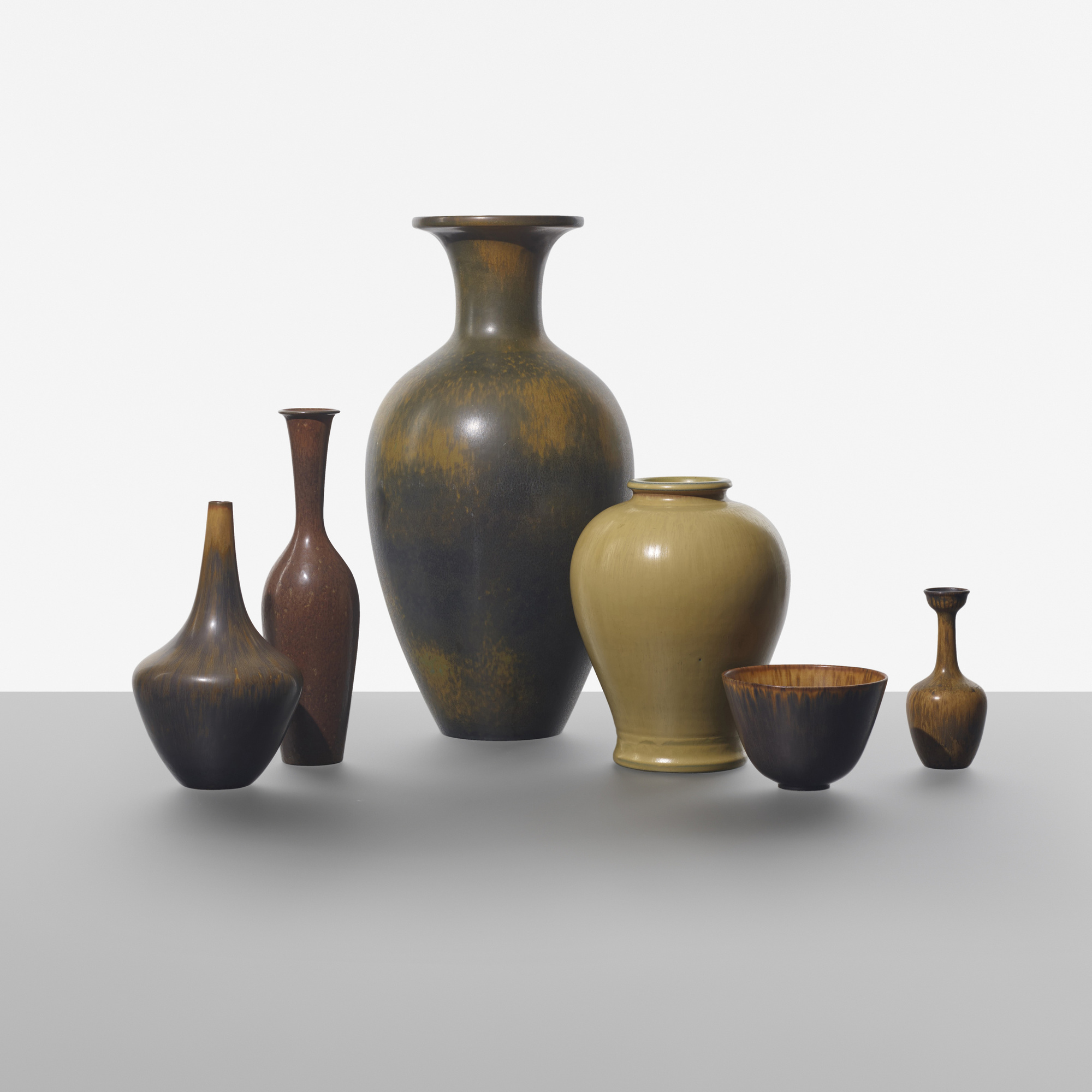 164: Gunnar Nylund / collection of six vases (1 of 2)
