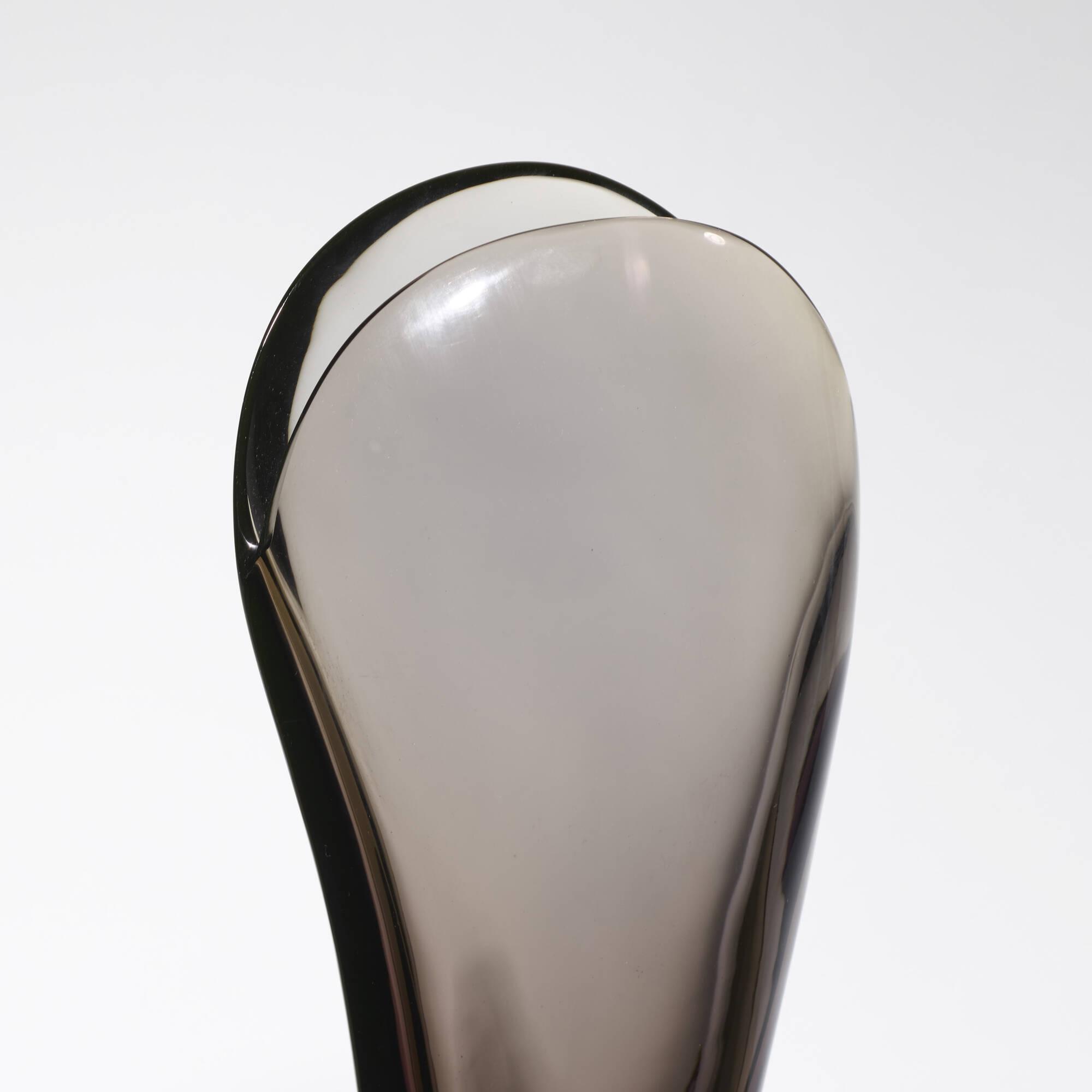 164: Flavio Poli / Valva vase, model 11485 (2 of 2)